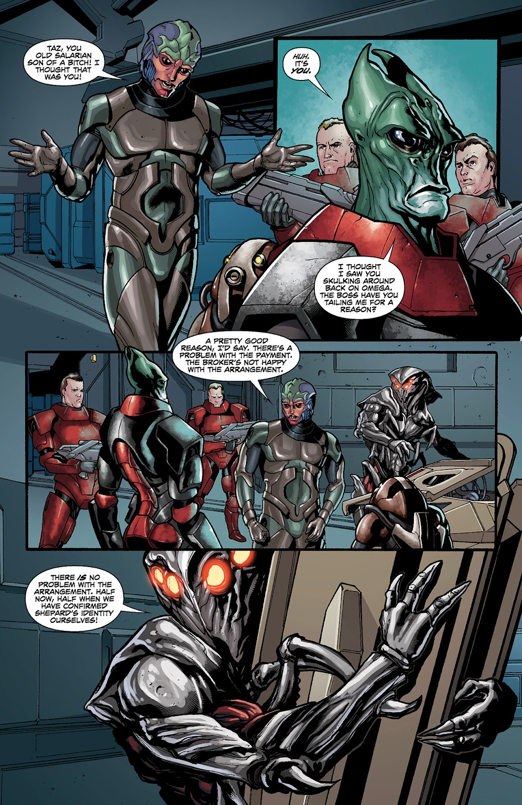 Mass Effect: Redemption Issue #4 #4 - English 13