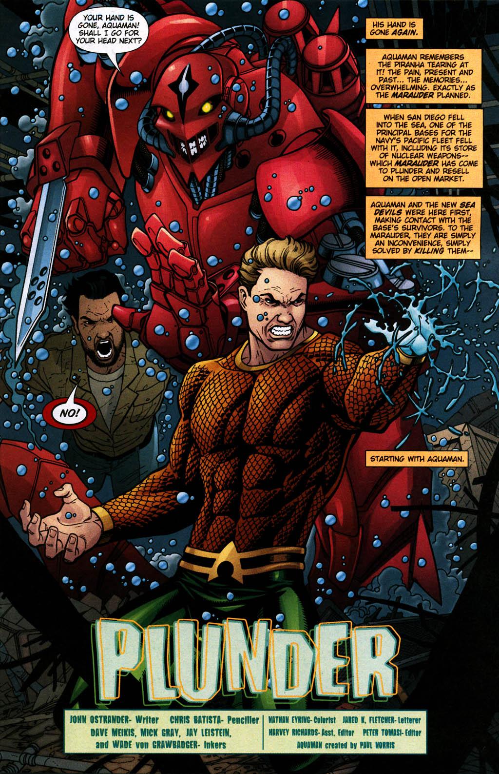 Read online Aquaman (2003) comic -  Issue #24 - 2
