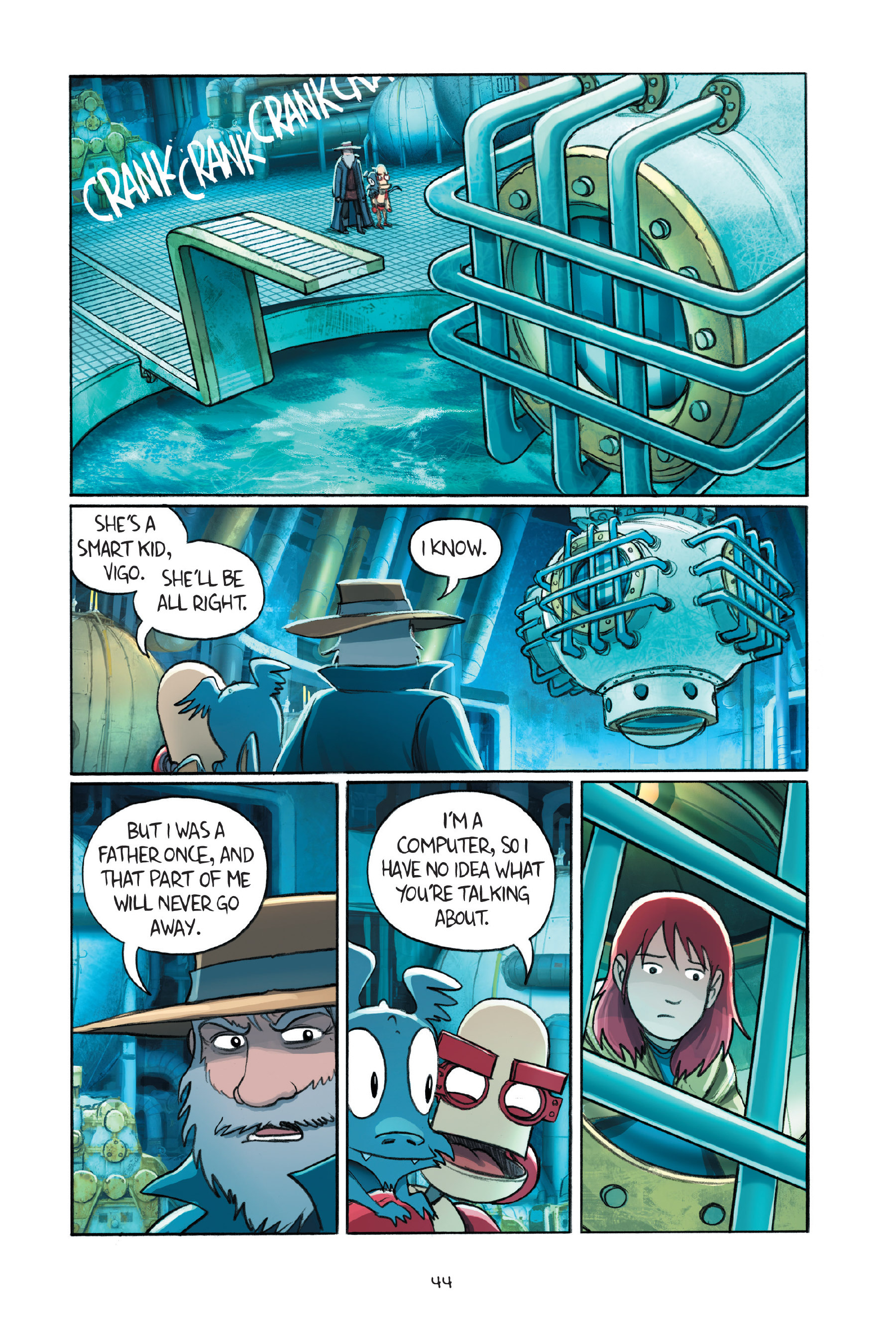 Read online Amulet comic -  Issue #7 - 47