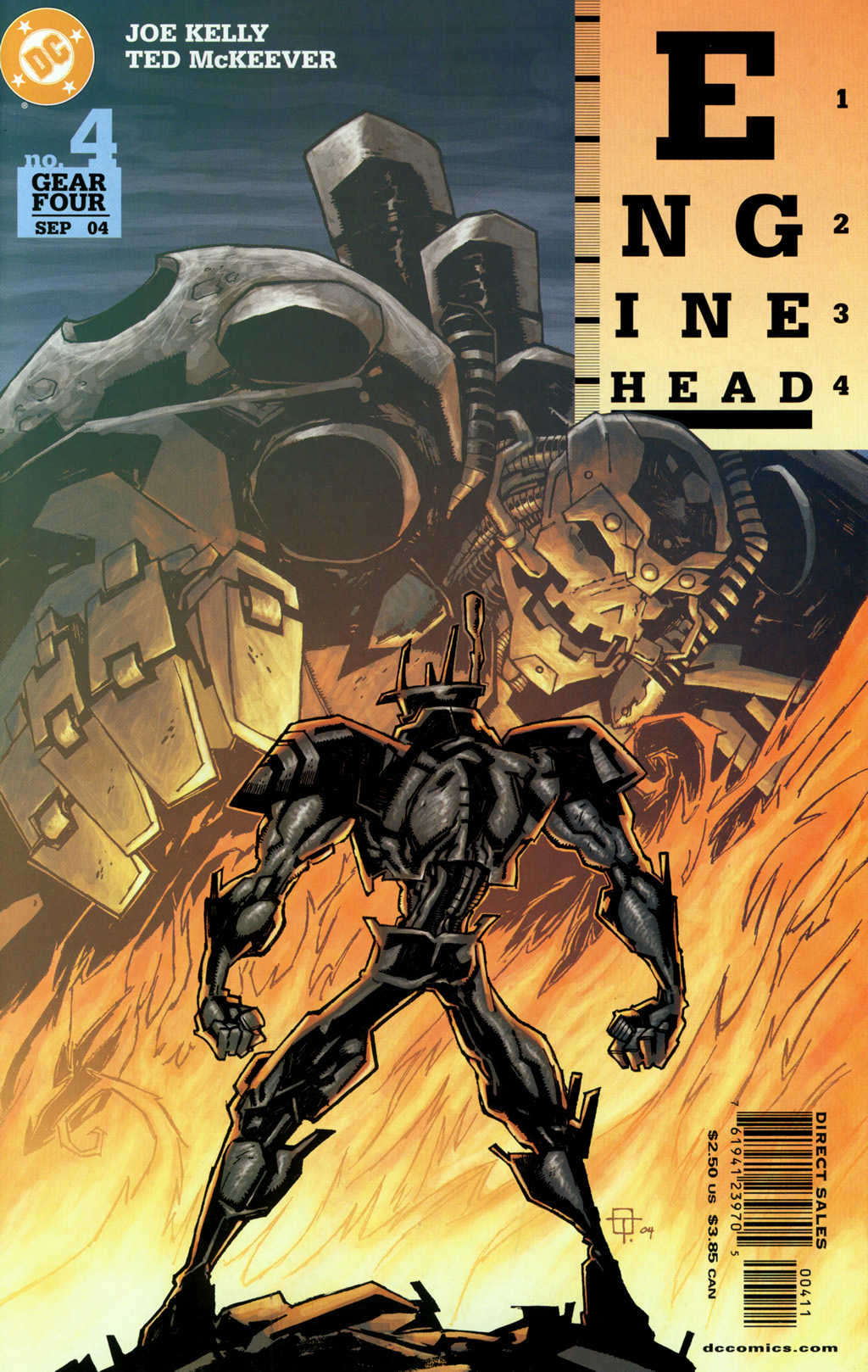 Read online Enginehead comic -  Issue #4 - 1