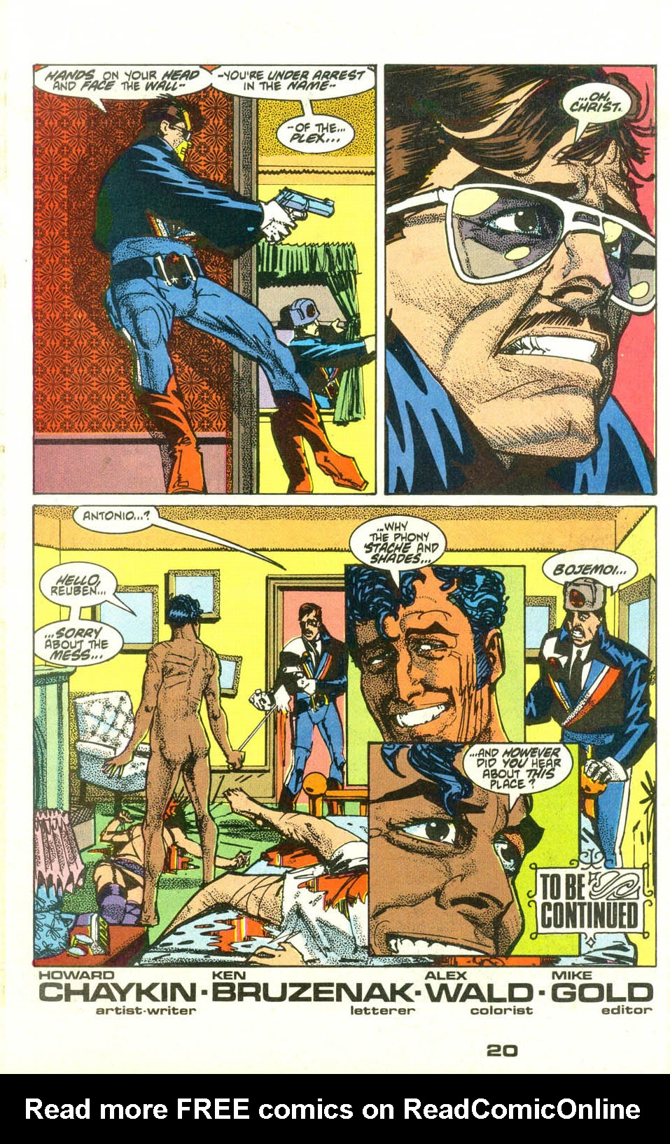 Read online American Flagg! comic -  Issue #23 - 22