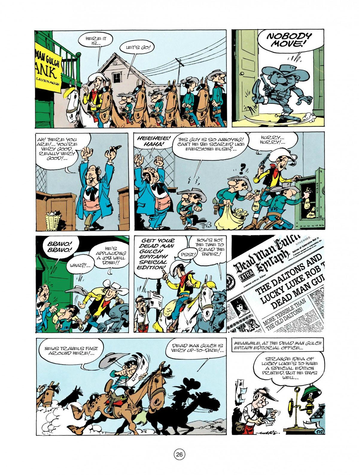 Read online A Lucky Luke Adventure comic -  Issue #28 - 27