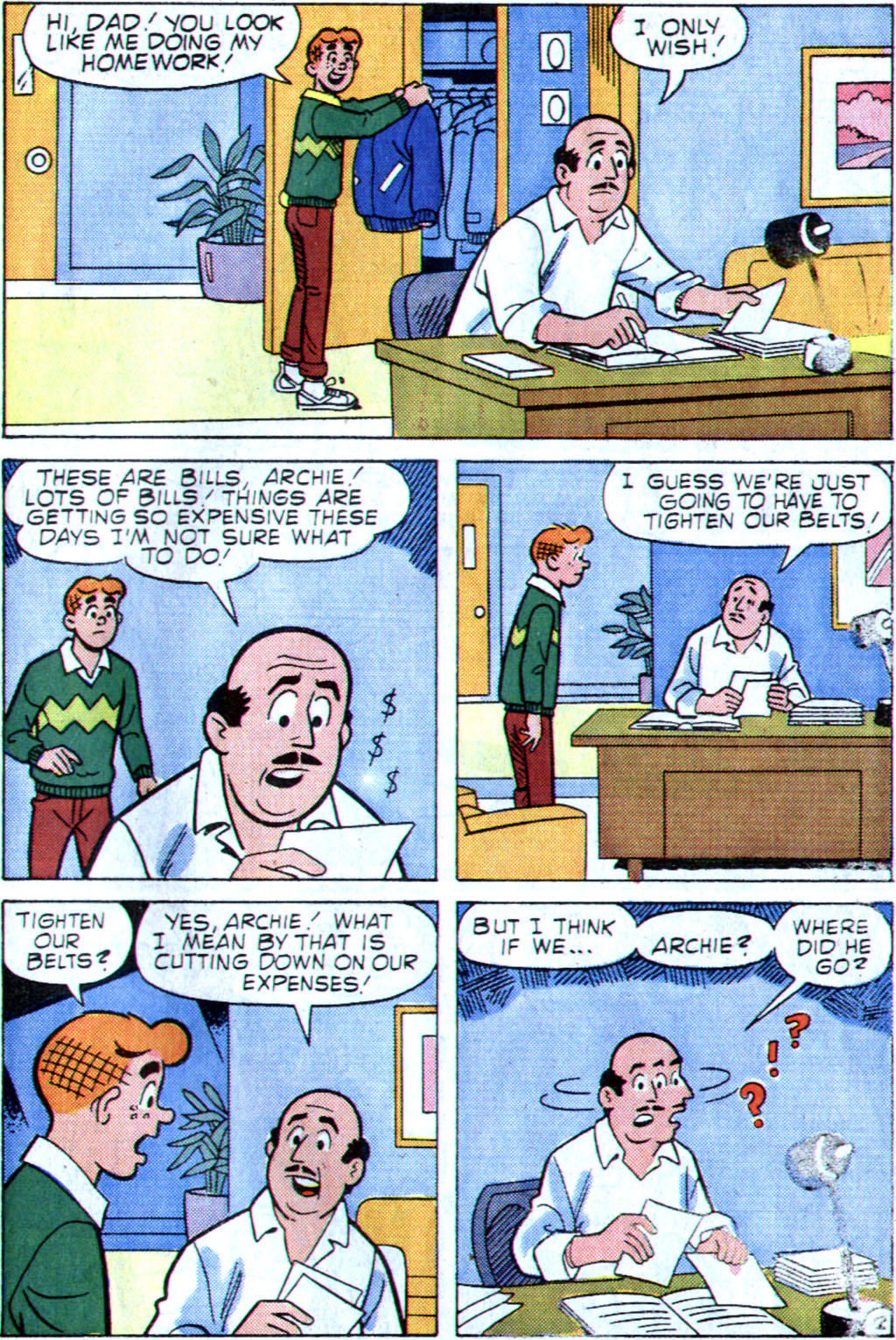 Read online Archie (1960) comic -  Issue #355 - 21