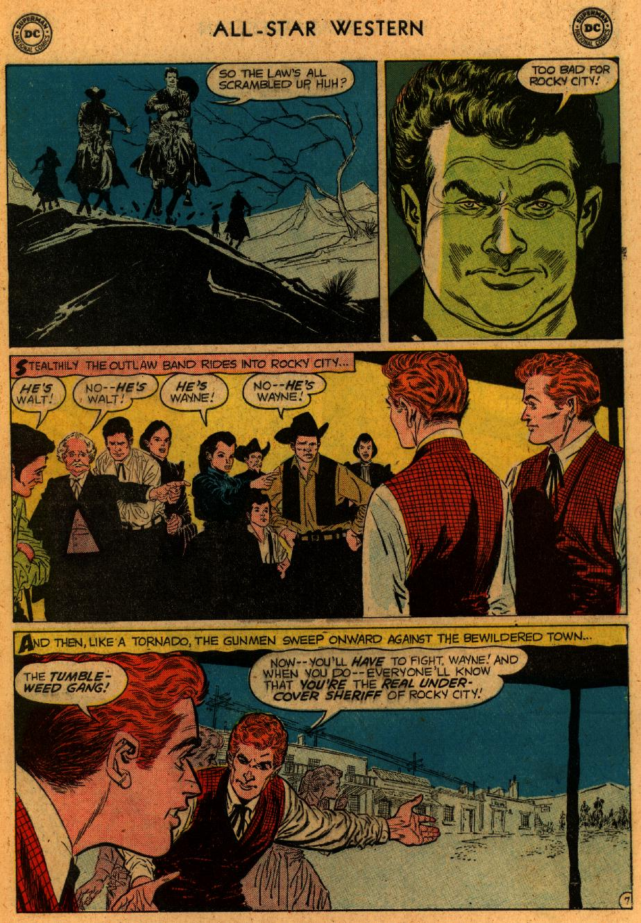 Read online All-Star Western (1951) comic -  Issue #102 - 9
