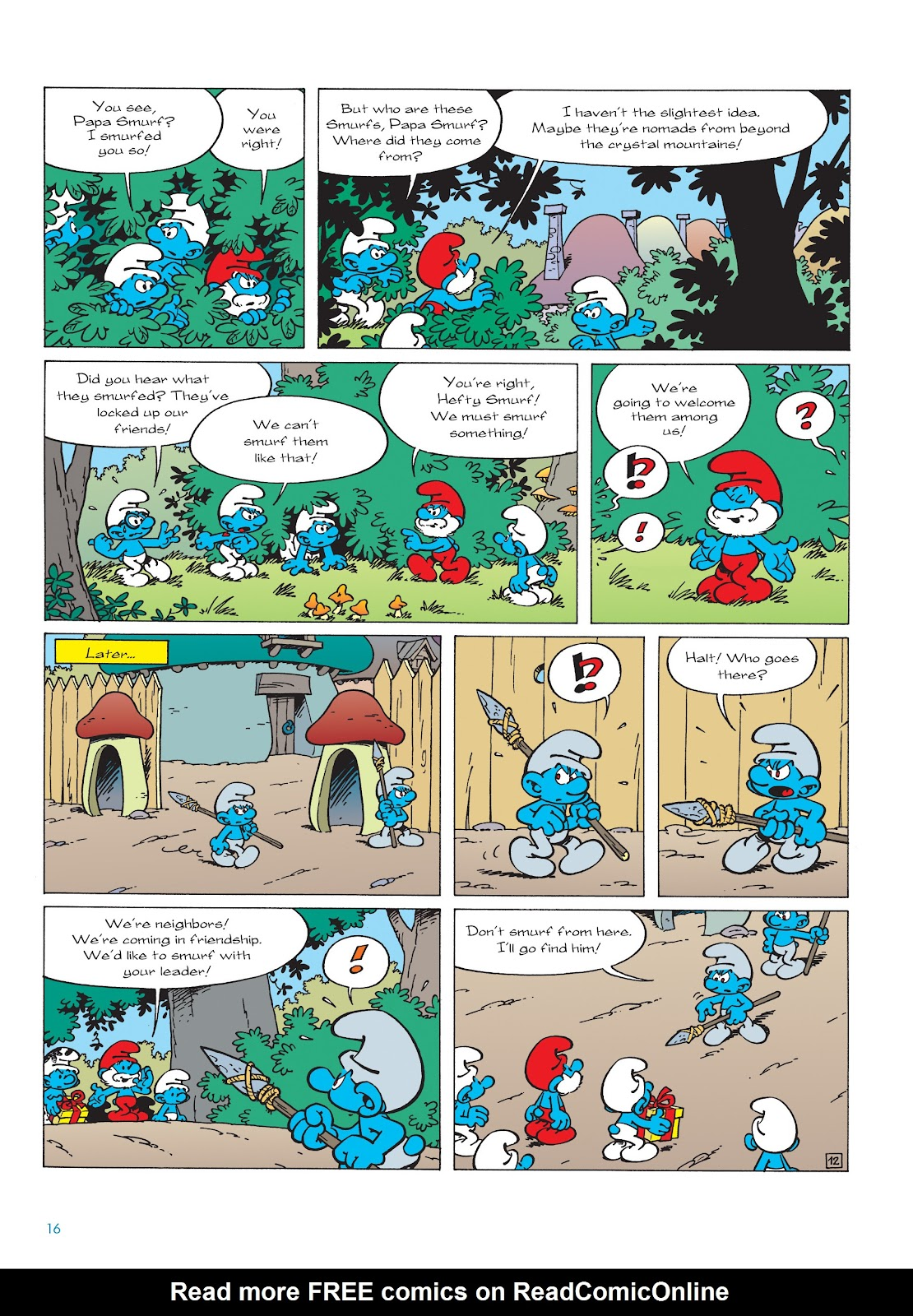 Read online The Smurfs comic -  Issue #22 - 17