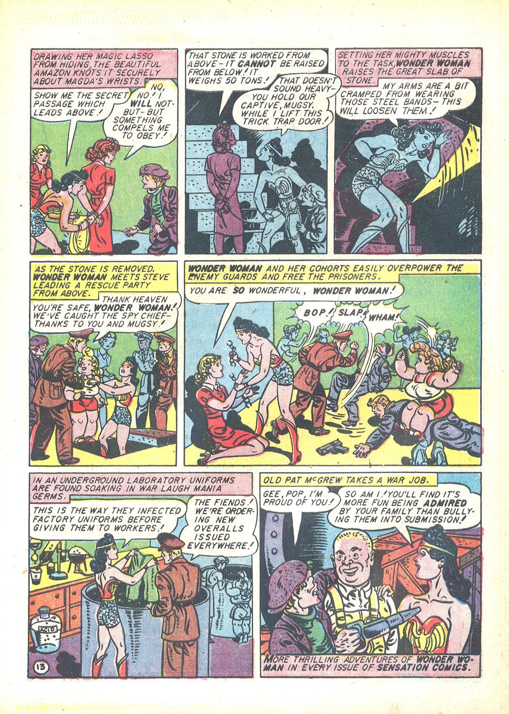 Read online Sensation (Mystery) Comics comic -  Issue #23 - 15