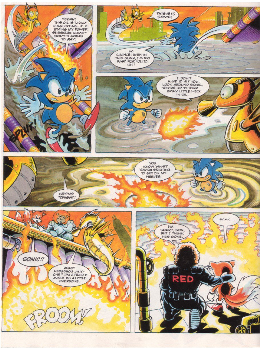 Read online Sonic the Comic comic -  Issue #7 - 6