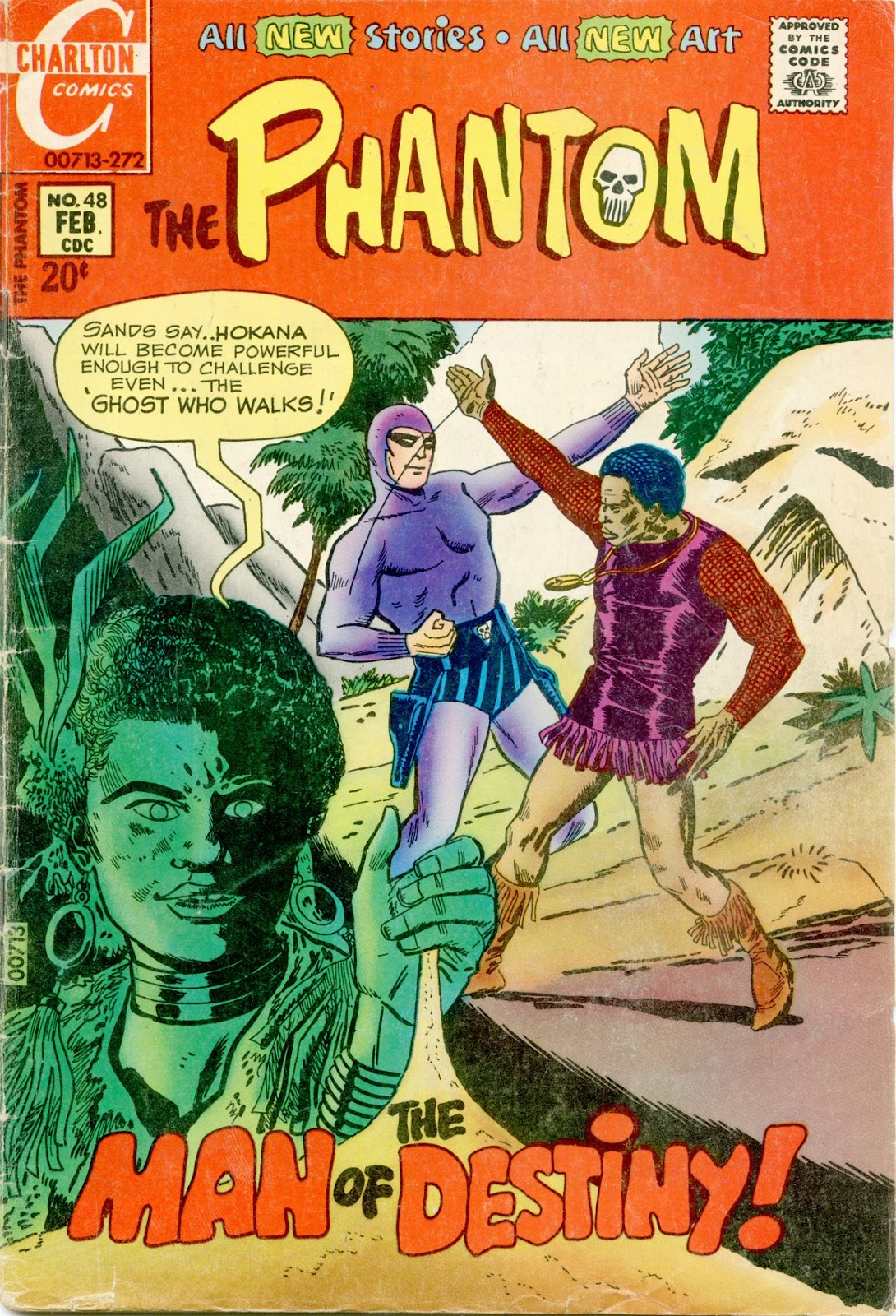 The Phantom (1969) issue 48 - Page 1