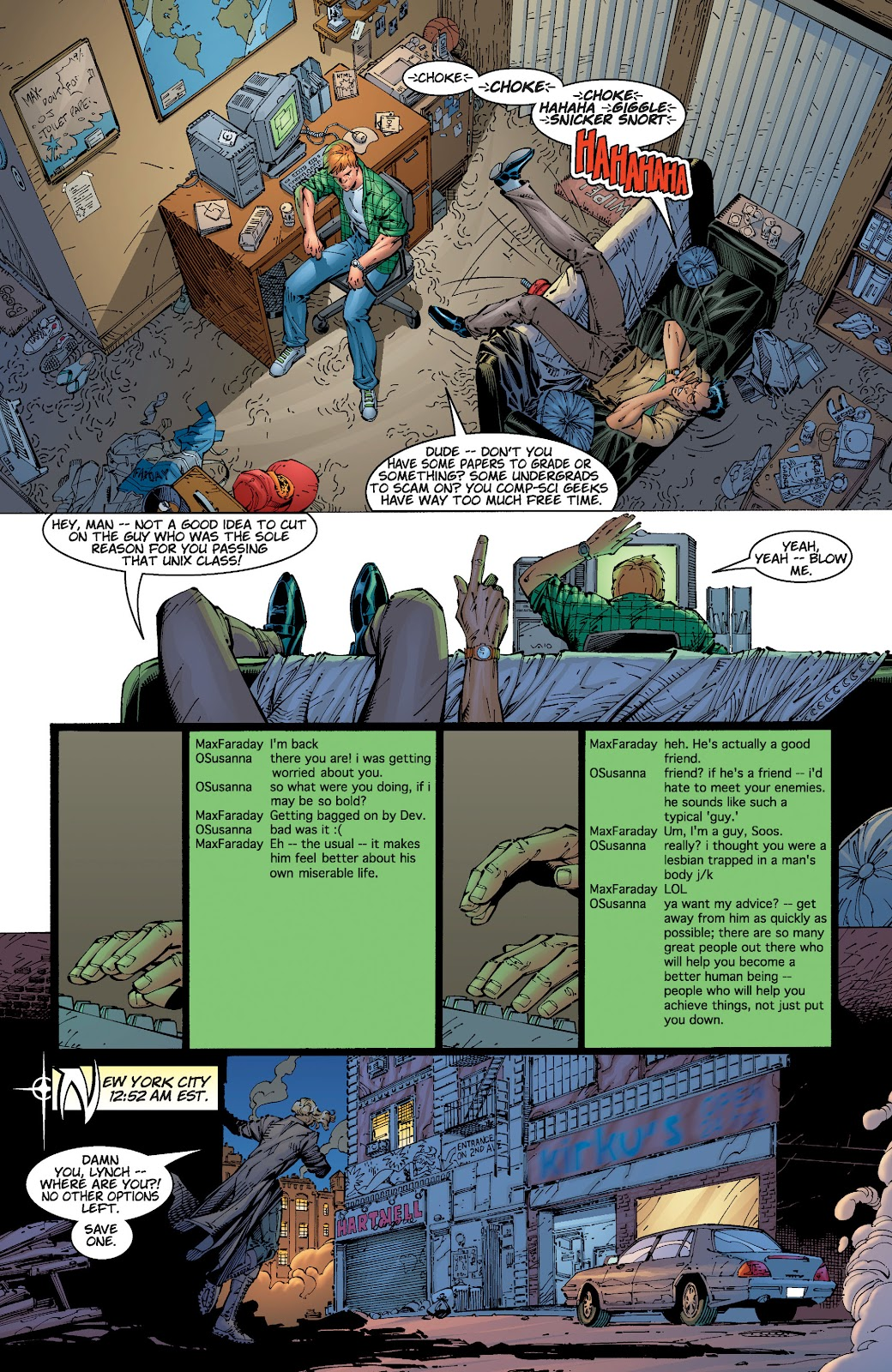 Read online Divine Right comic -  Issue # _TPB The Adventures of Max Faraday (Part 1) - 37
