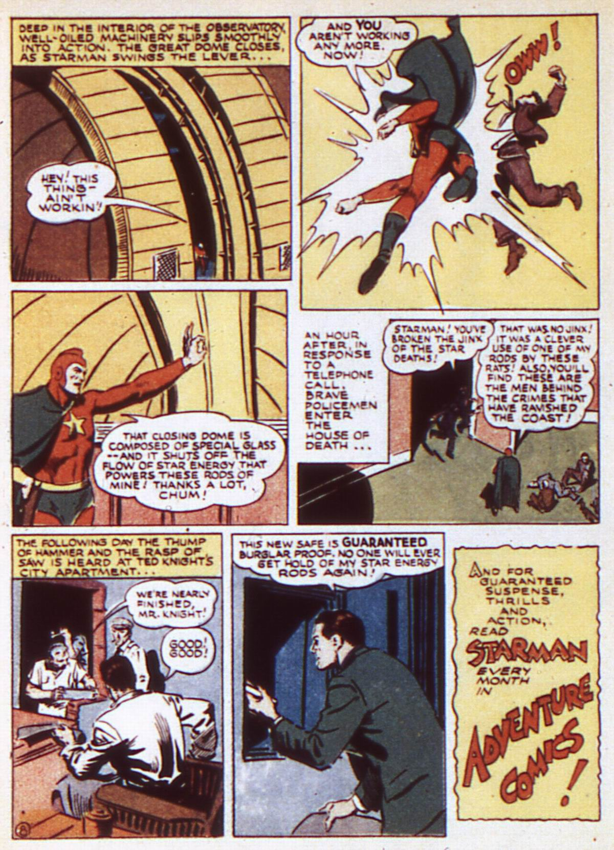 Read online Adventure Comics (1938) comic -  Issue #84 - 22