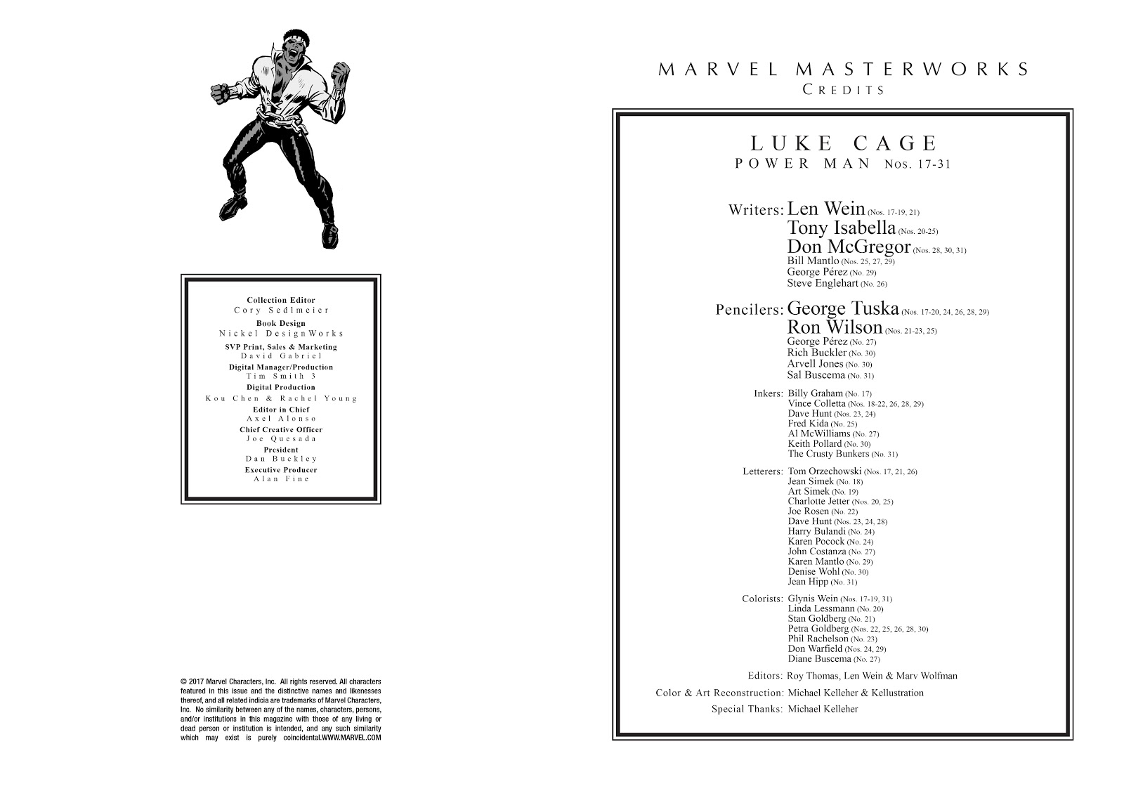 Read online Marvel Masterworks: Luke Cage, Power Man comic -  Issue # TPB 2 (Part 1) - 3