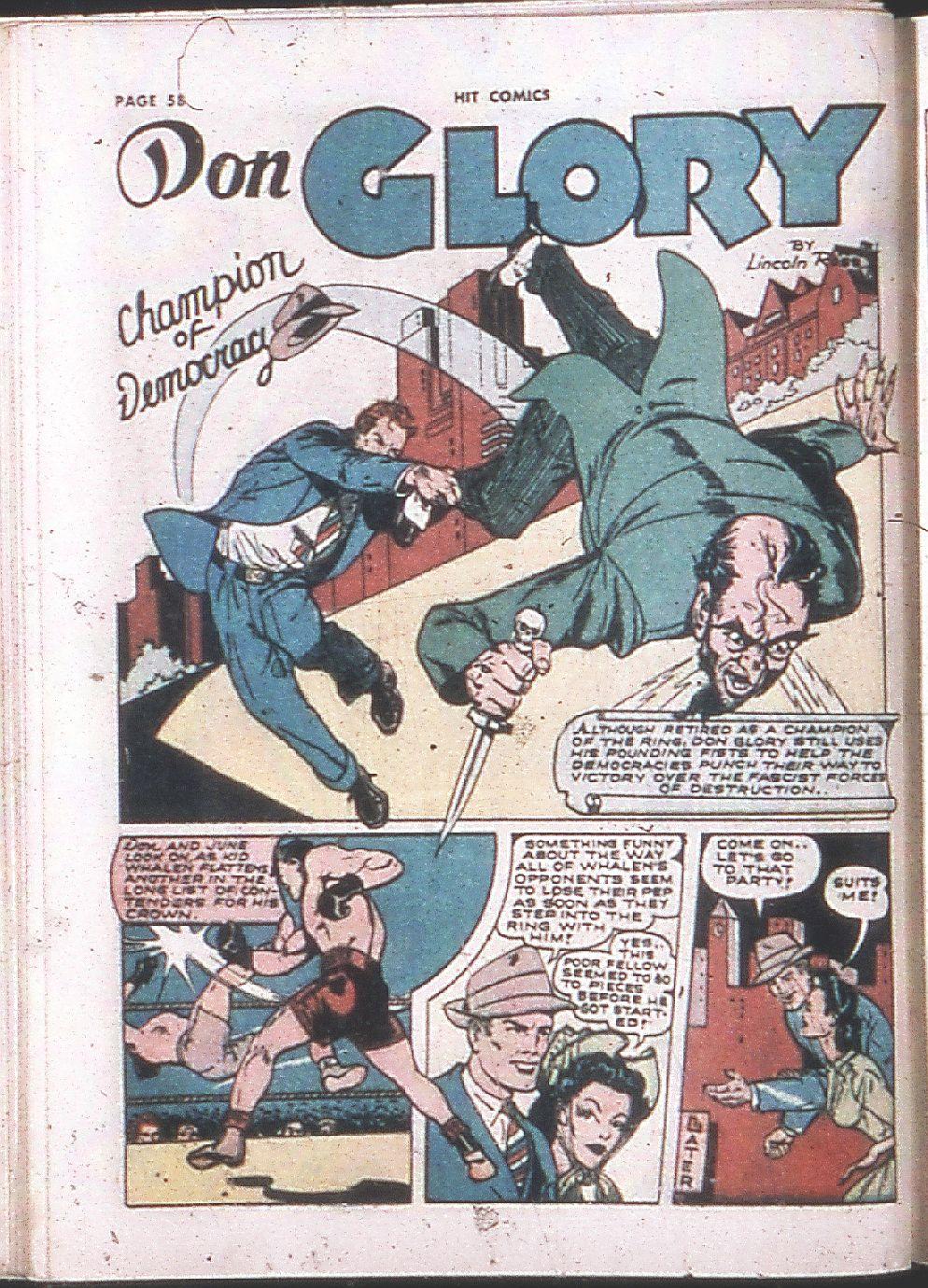 Read online Hit Comics comic -  Issue #24 - 60
