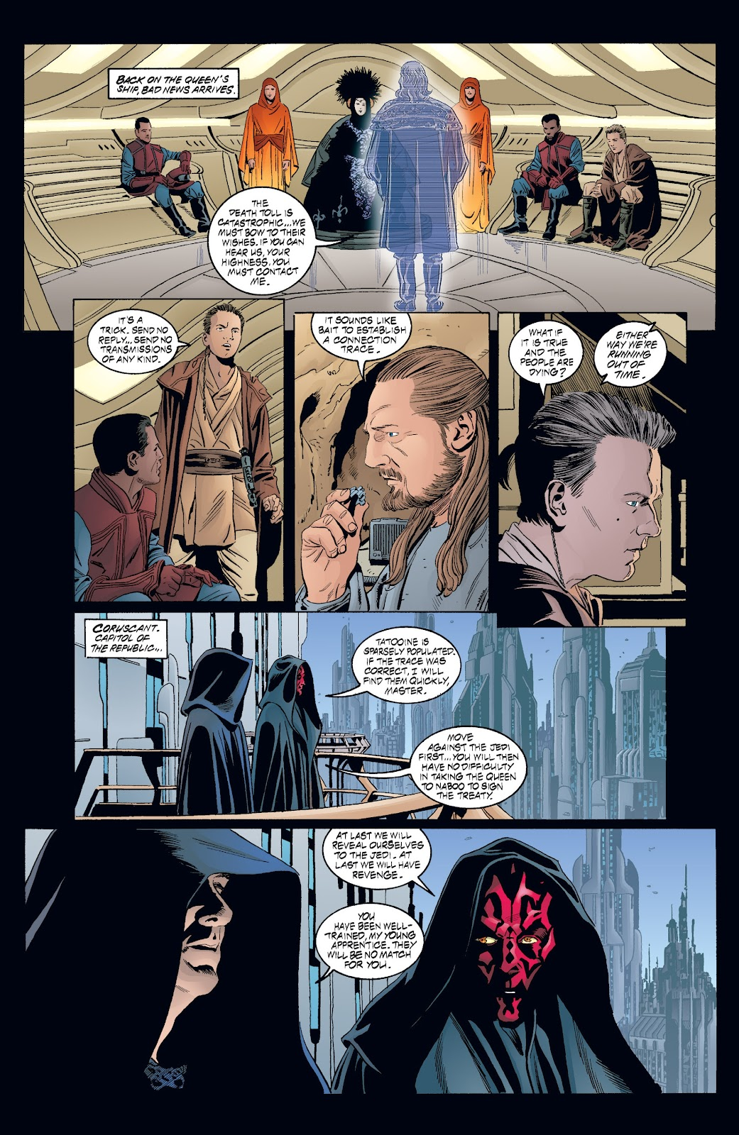 Read online Star Wars Legends: Rise of the Sith - Epic Collection comic -  Issue # TPB 2 (Part 3) - 74