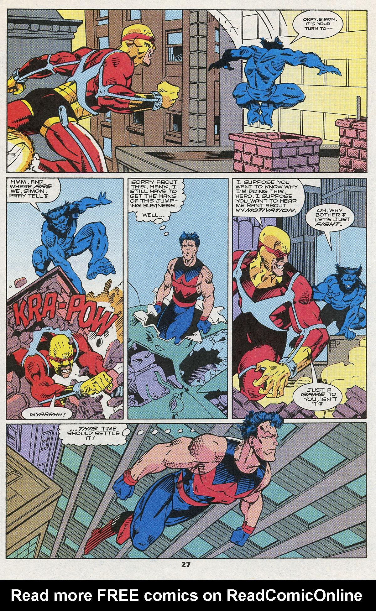 Read online Wonder Man (1991) comic -  Issue #5 - 22
