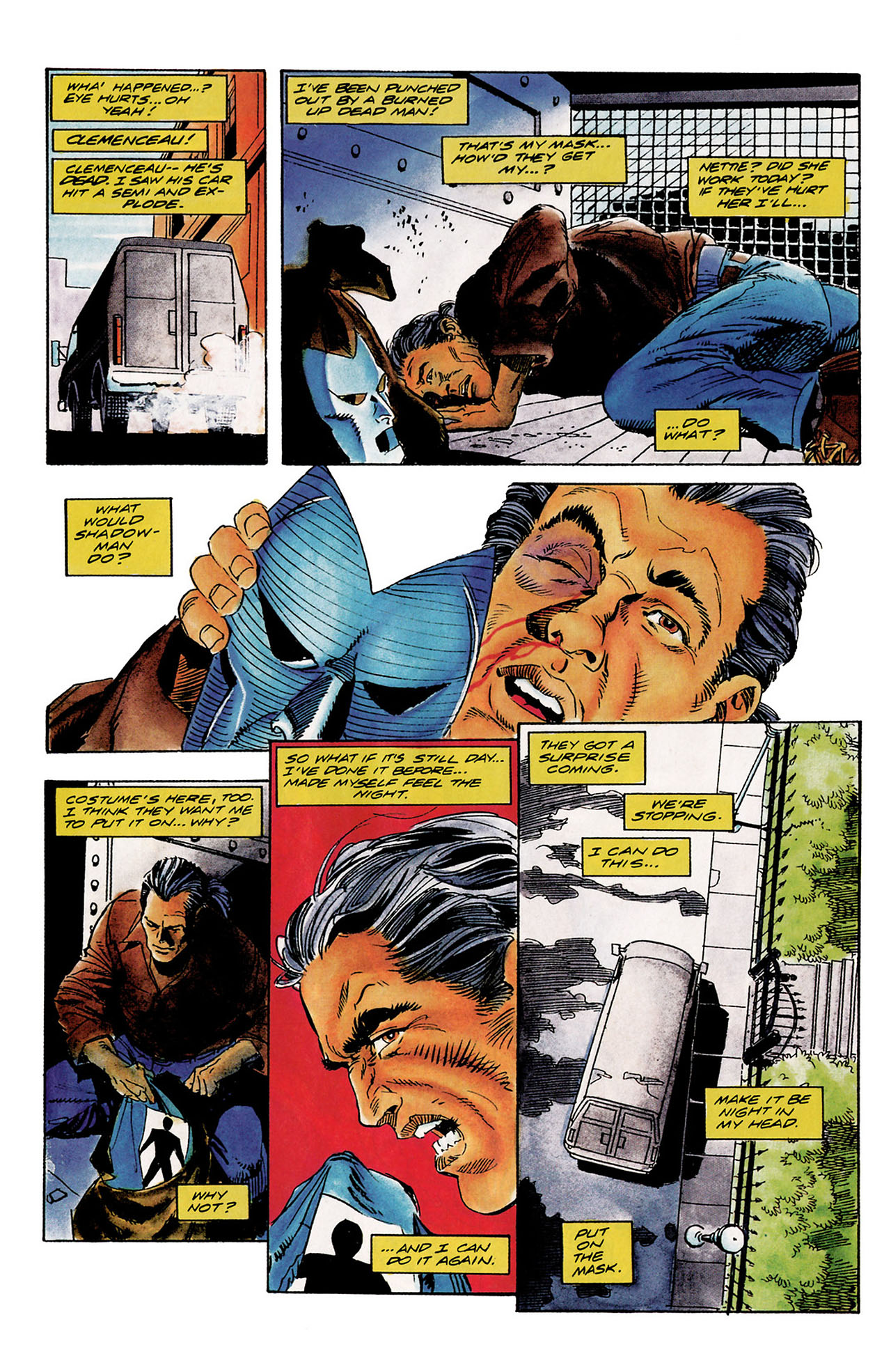 Read online Shadowman (1992) comic -  Issue #10 - 10