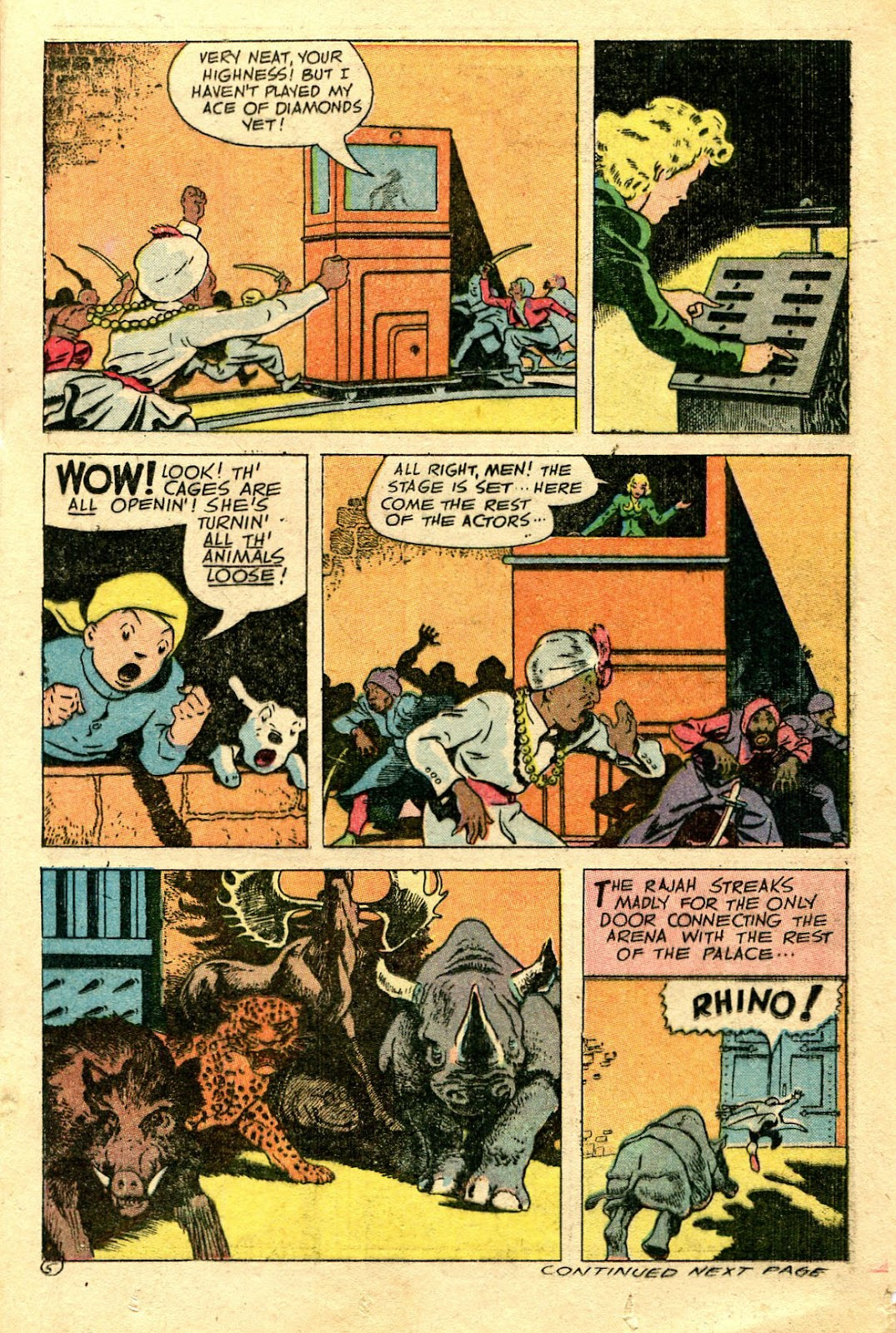 Read online Famous Funnies comic -  Issue #137 - 23