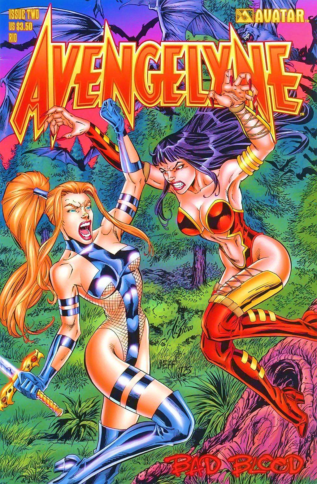 Read online Avengelyne: Bad Blood comic -  Issue #2 - 2