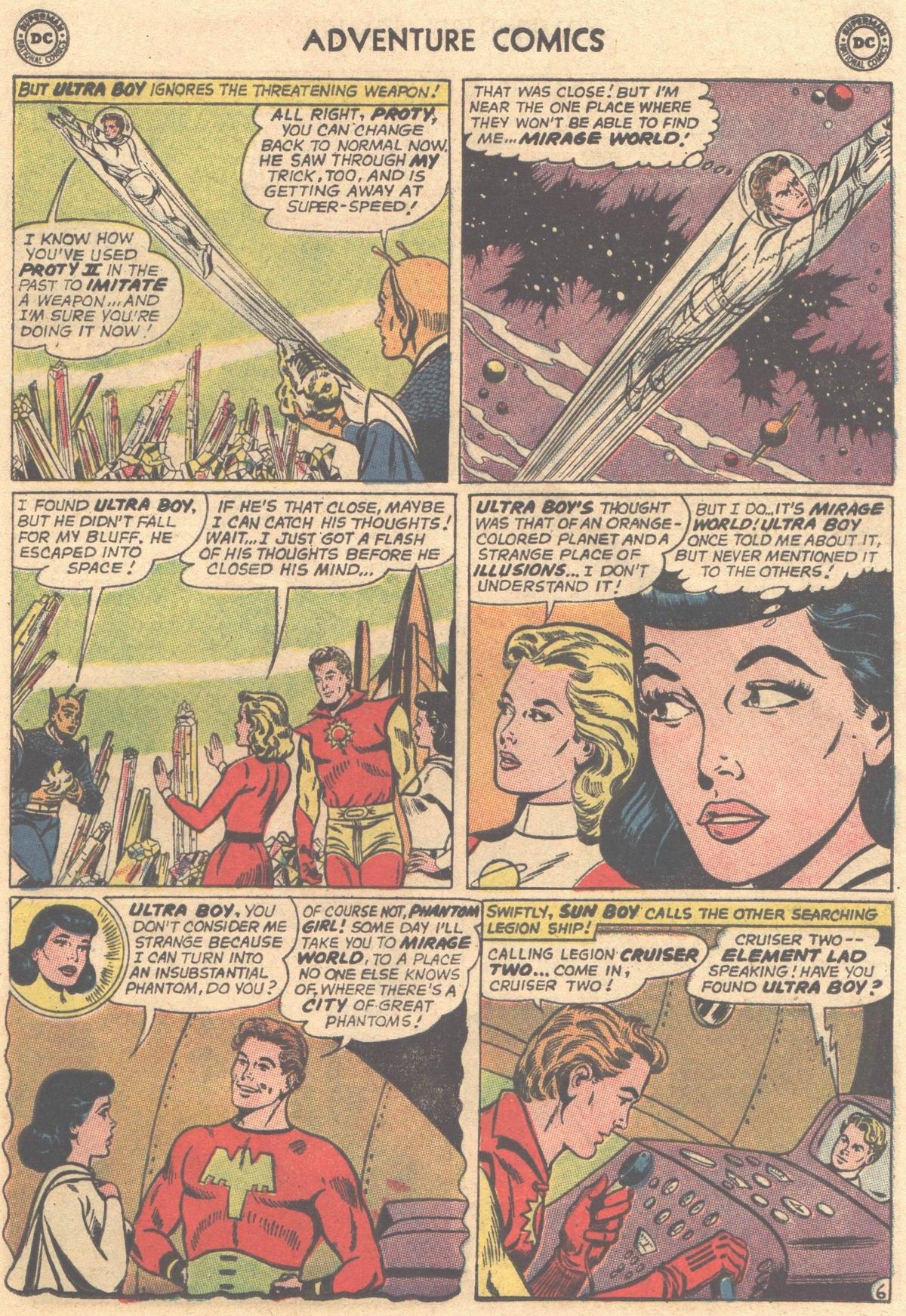 Read online Adventure Comics (1938) comic -  Issue #316 - 21