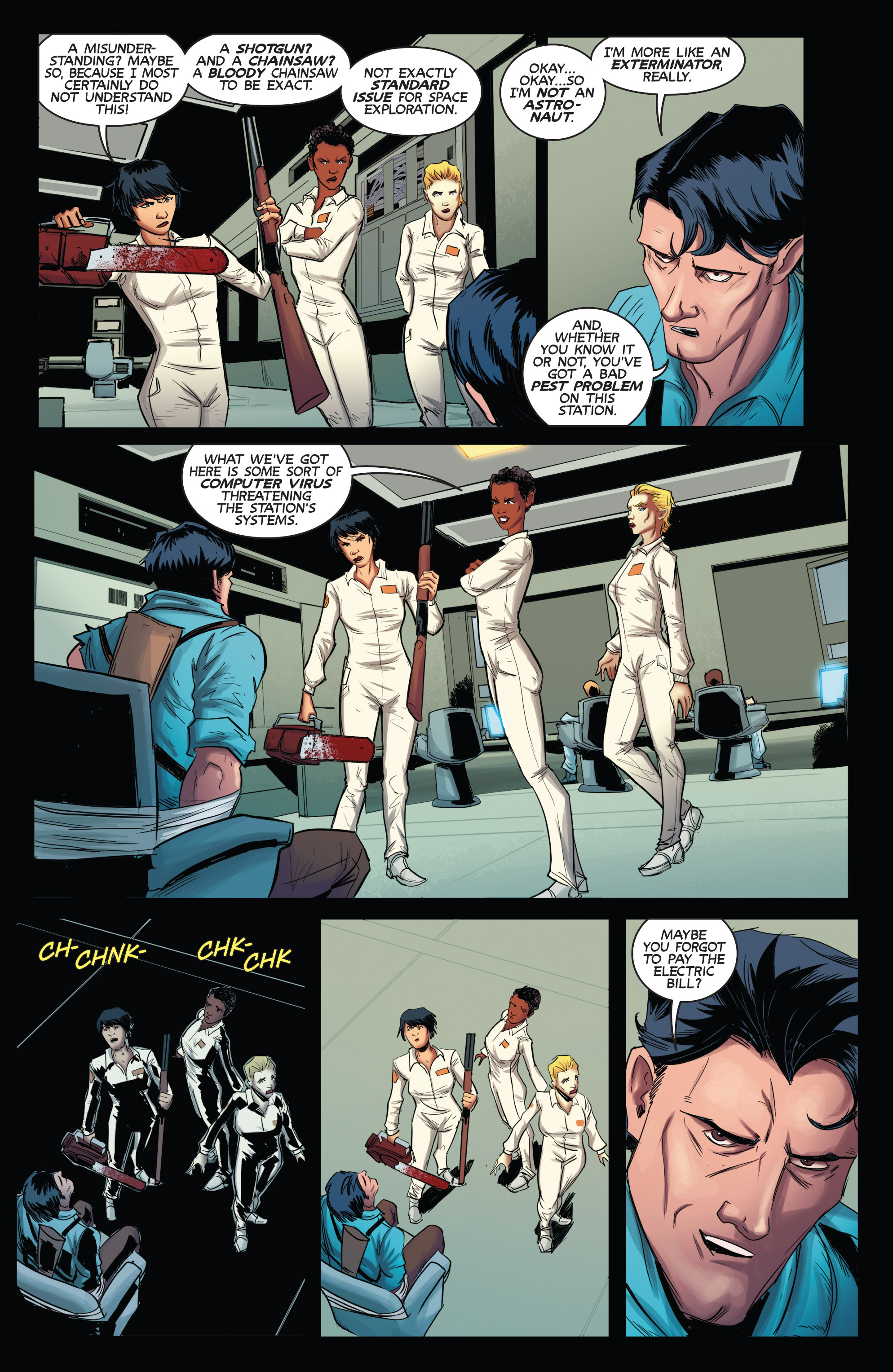 Read online Army of Darkness (2014) comic -  Issue #2 - 14