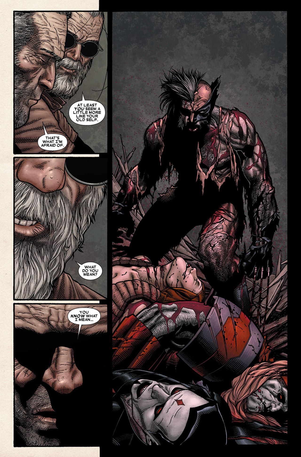 Read online Wolverine: Old Man Logan comic -  Issue # Full - 87