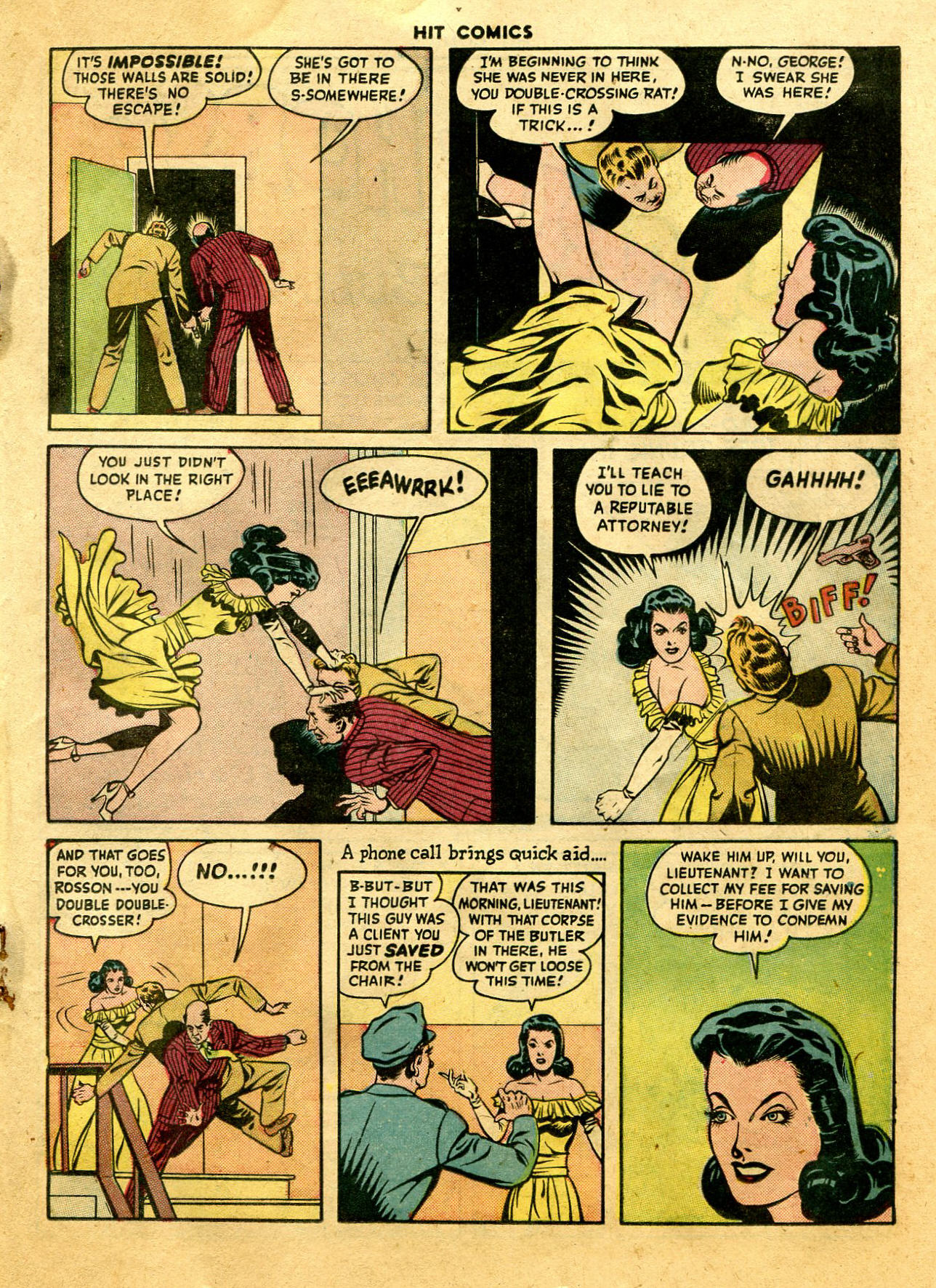 Read online Hit Comics comic -  Issue #44 - 37