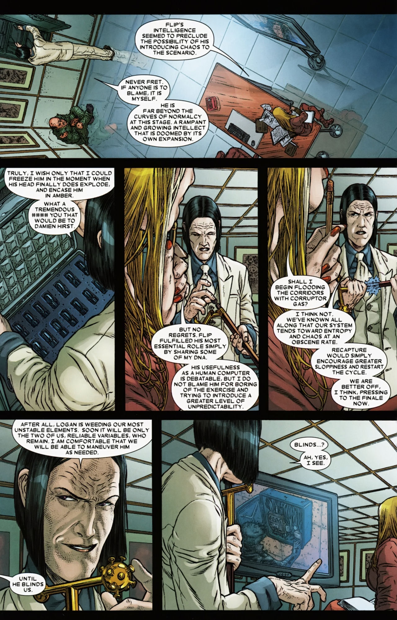 Read online Wolverine: The Best There Is comic -  Issue #6 - 5