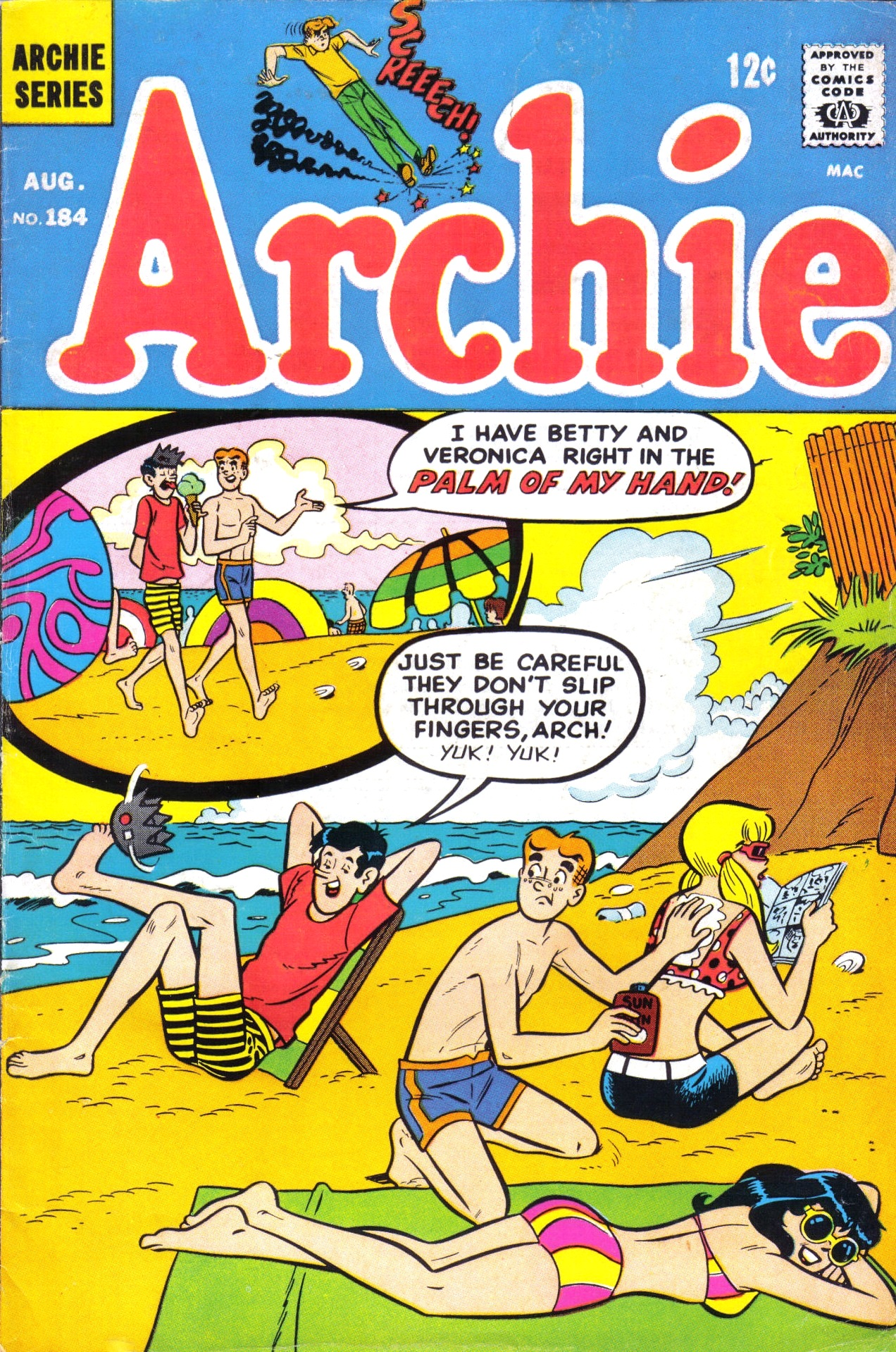 Read online Archie (1960) comic -  Issue #184 - 1