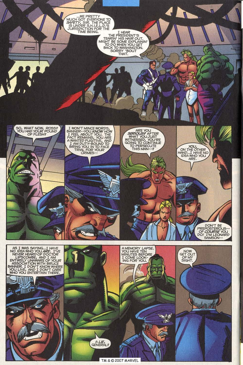 Read online The Incredible Hulk (2000) comic -  Issue #20 - 34