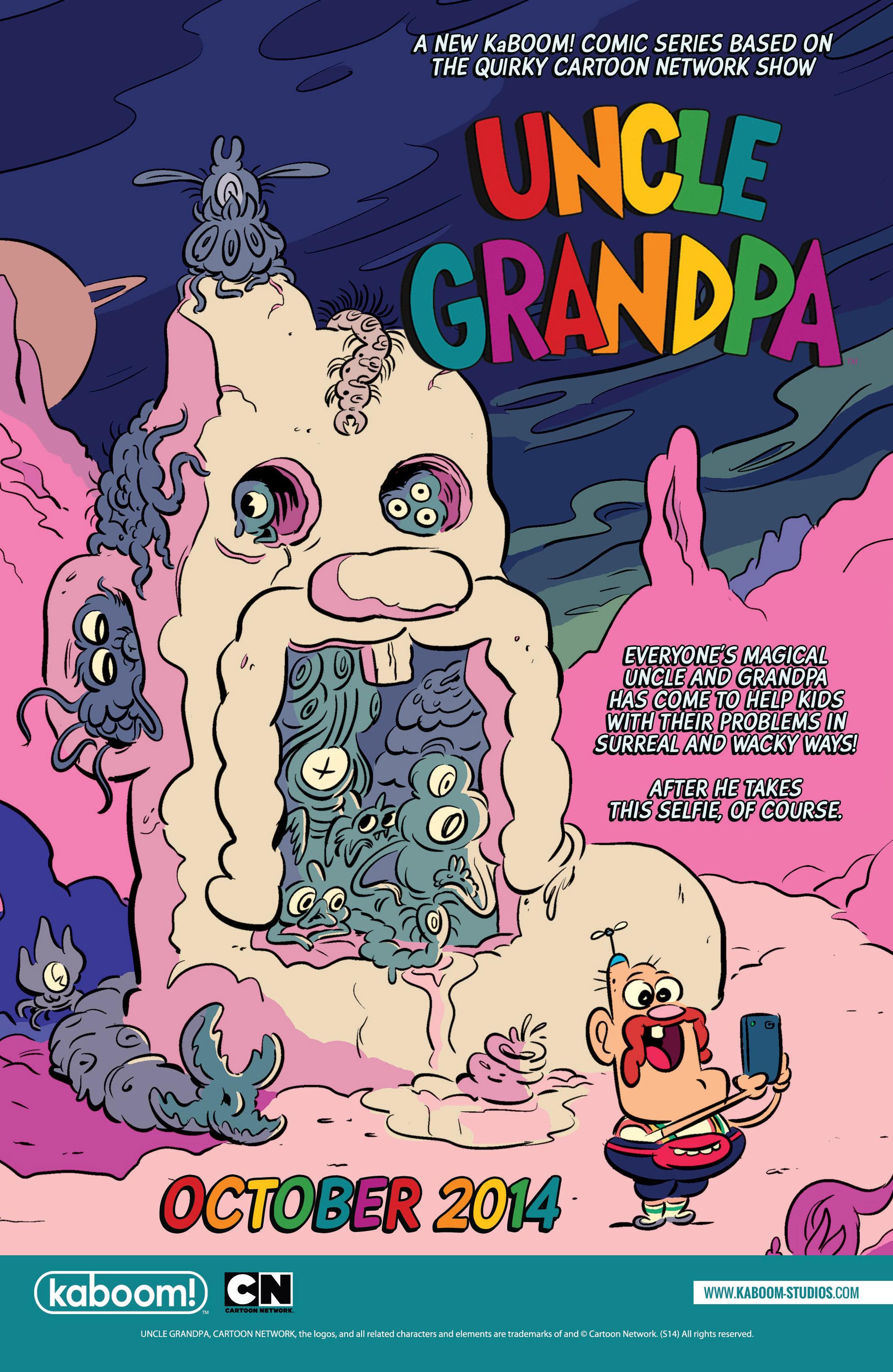 Read online Adventure Time: Banana Guard Academ comic -  Issue #3 - 25