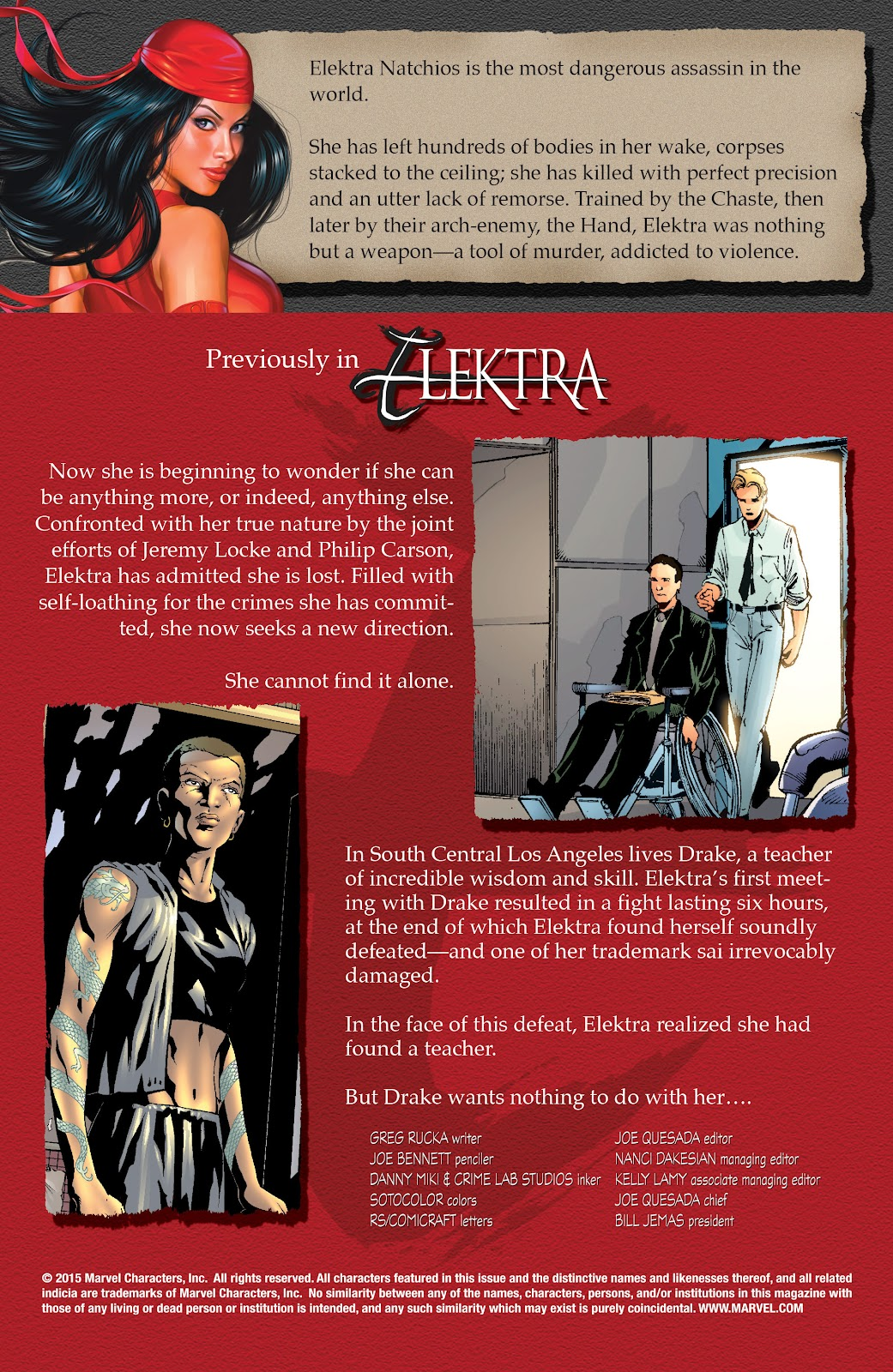 Read online Elektra (2001) comic -  Issue # _TPB Elektra by Greg Rucka Ultimate Collection (Part 3) - 45