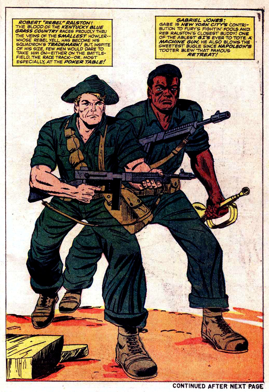Read online Sgt. Fury comic -  Issue # _Special 3 - 55