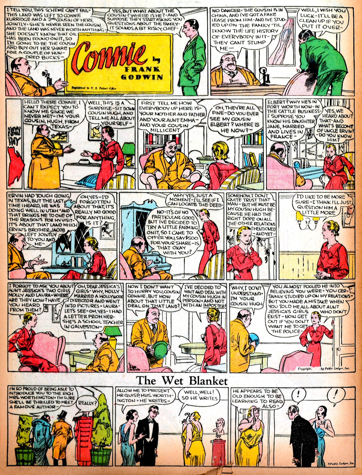 Read online Famous Funnies comic -  Issue #11 - 61