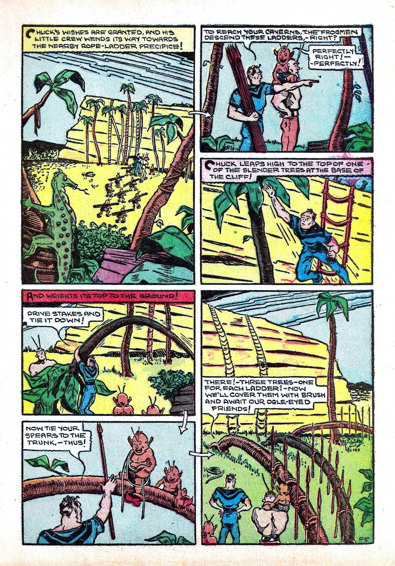 Read online Amazing Man Comics comic -  Issue #11 - 17
