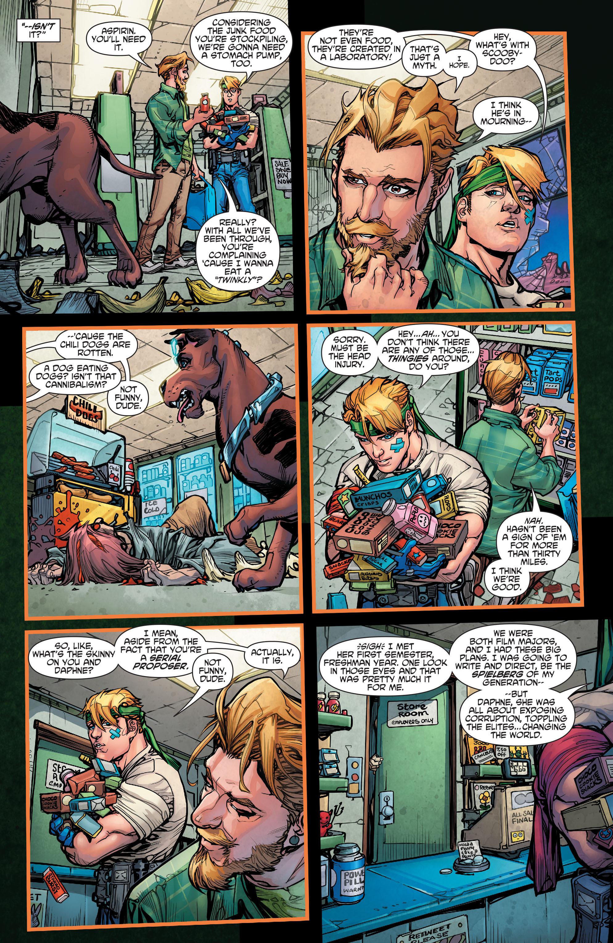 Read online Scooby Apocalypse comic -  Issue #3 - 24