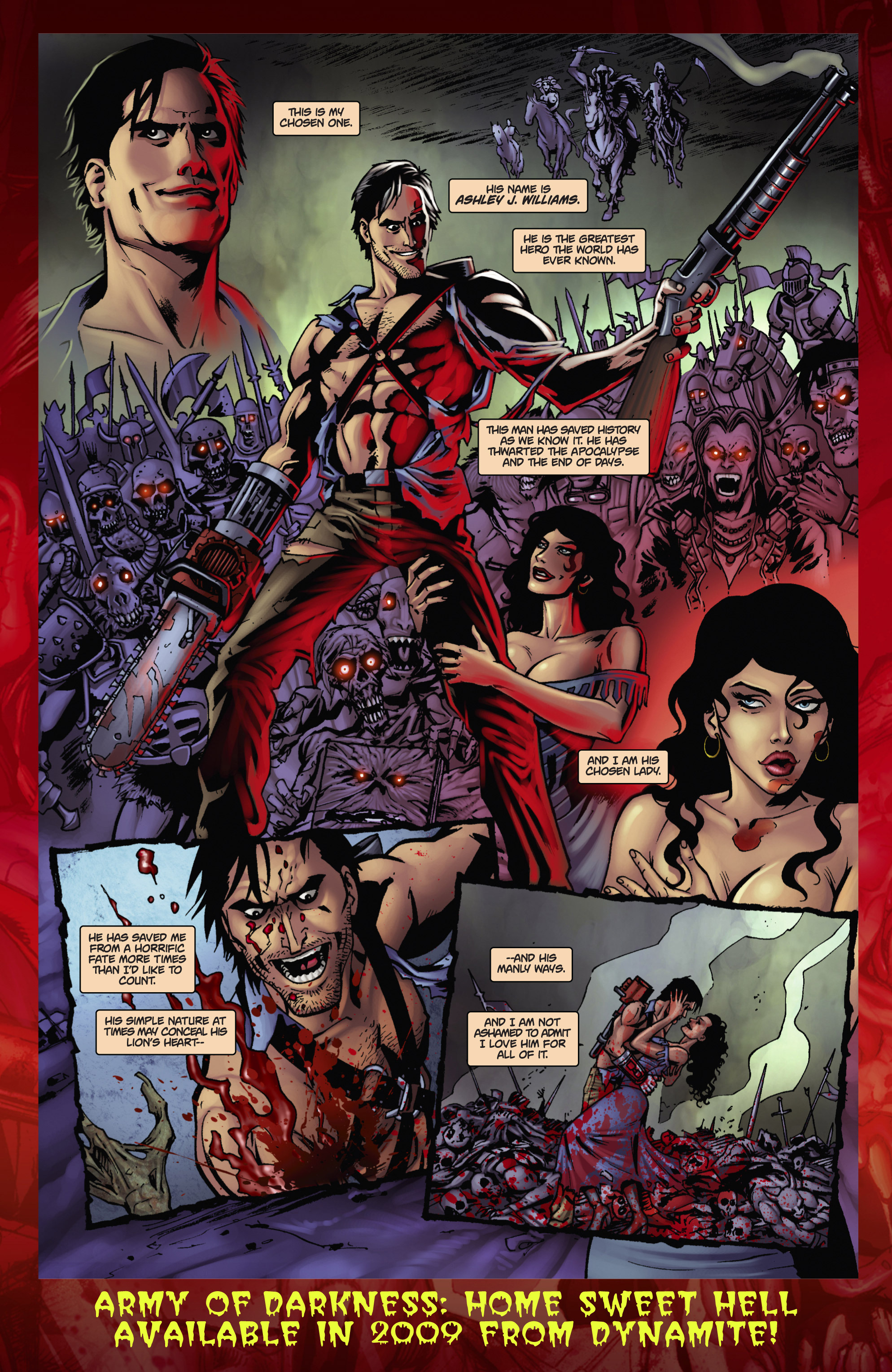Read online Army of Darkness: The Long Road Home comic -  Issue #Army of Darkness: The Long Road Home TPB - 117