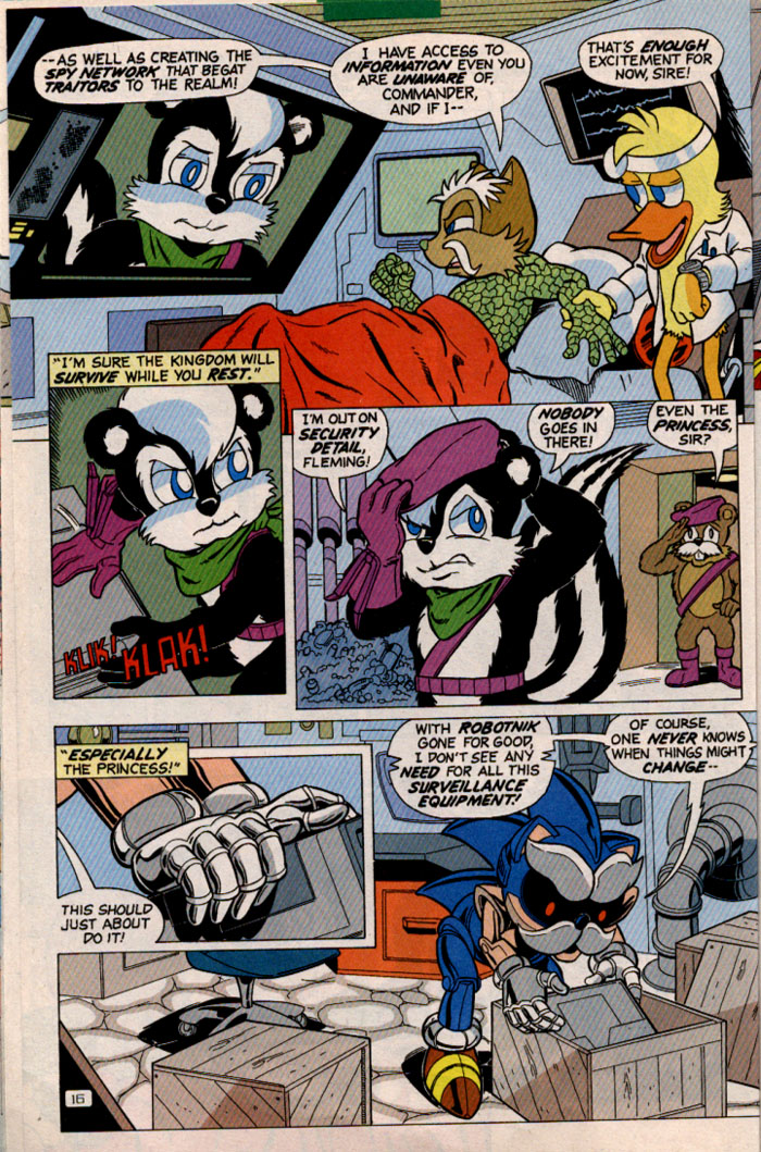 Read online Sonic Super Special comic -  Issue #2 - Brave new world - 18