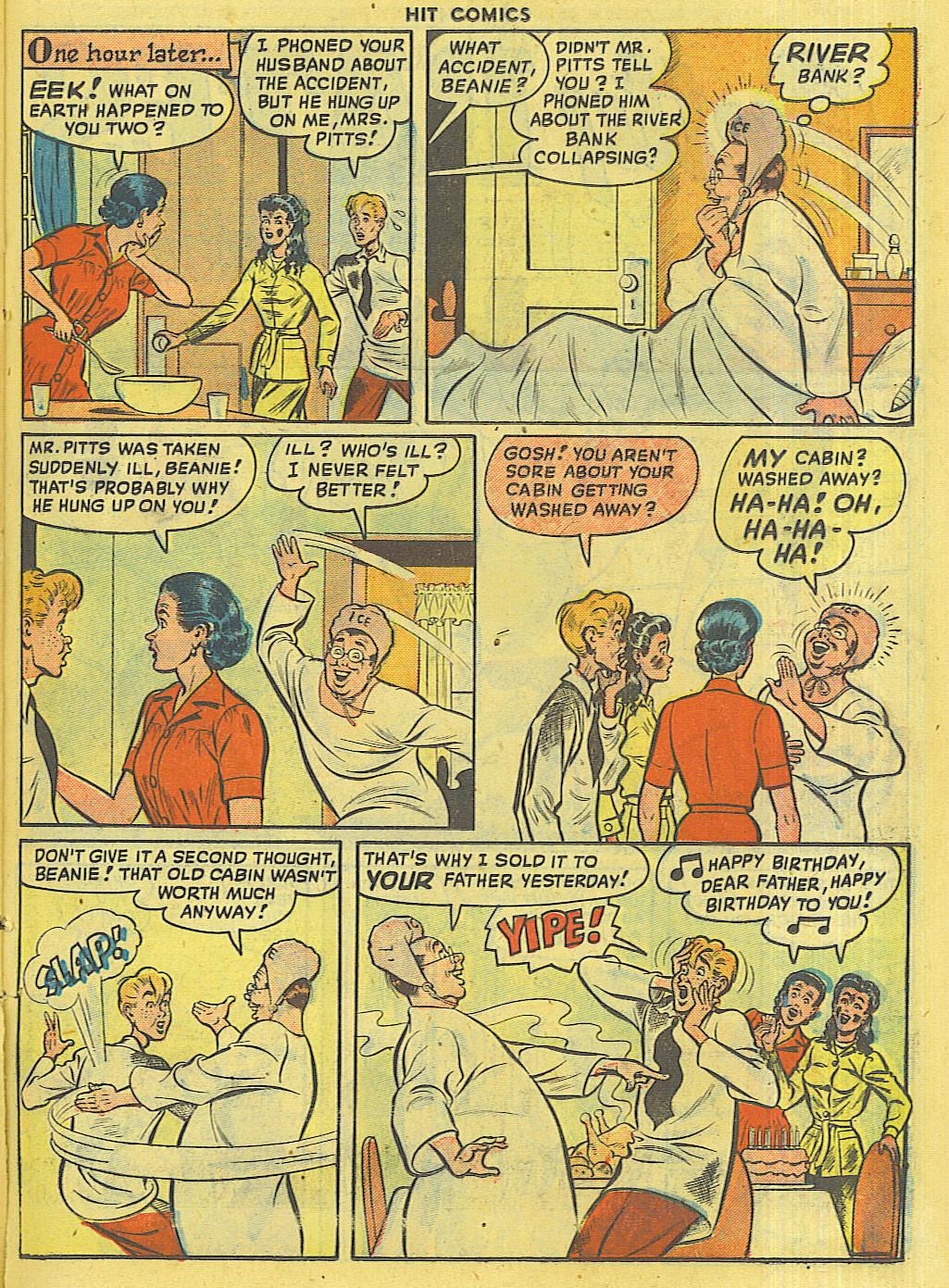 Read online Hit Comics comic -  Issue #56 - 31