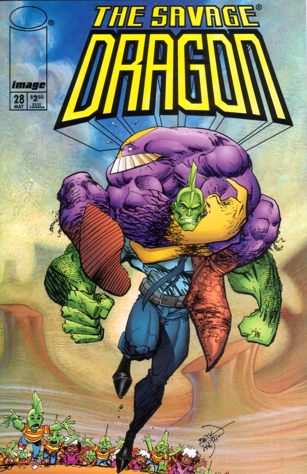 The Savage Dragon (1993) Issue #28 #31 - English 2