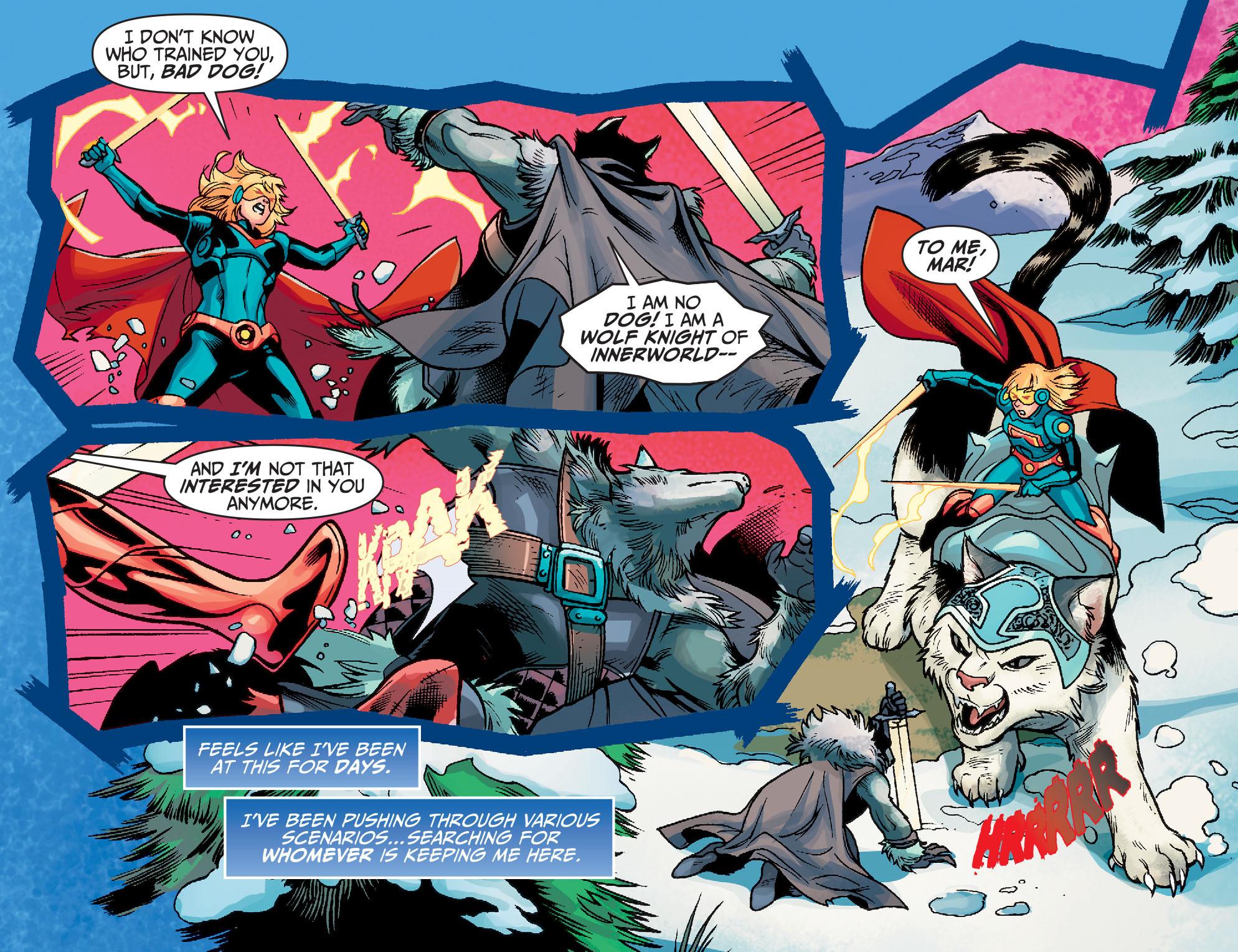 Read online Adventures of Supergirl comic -  Issue #7 - 6