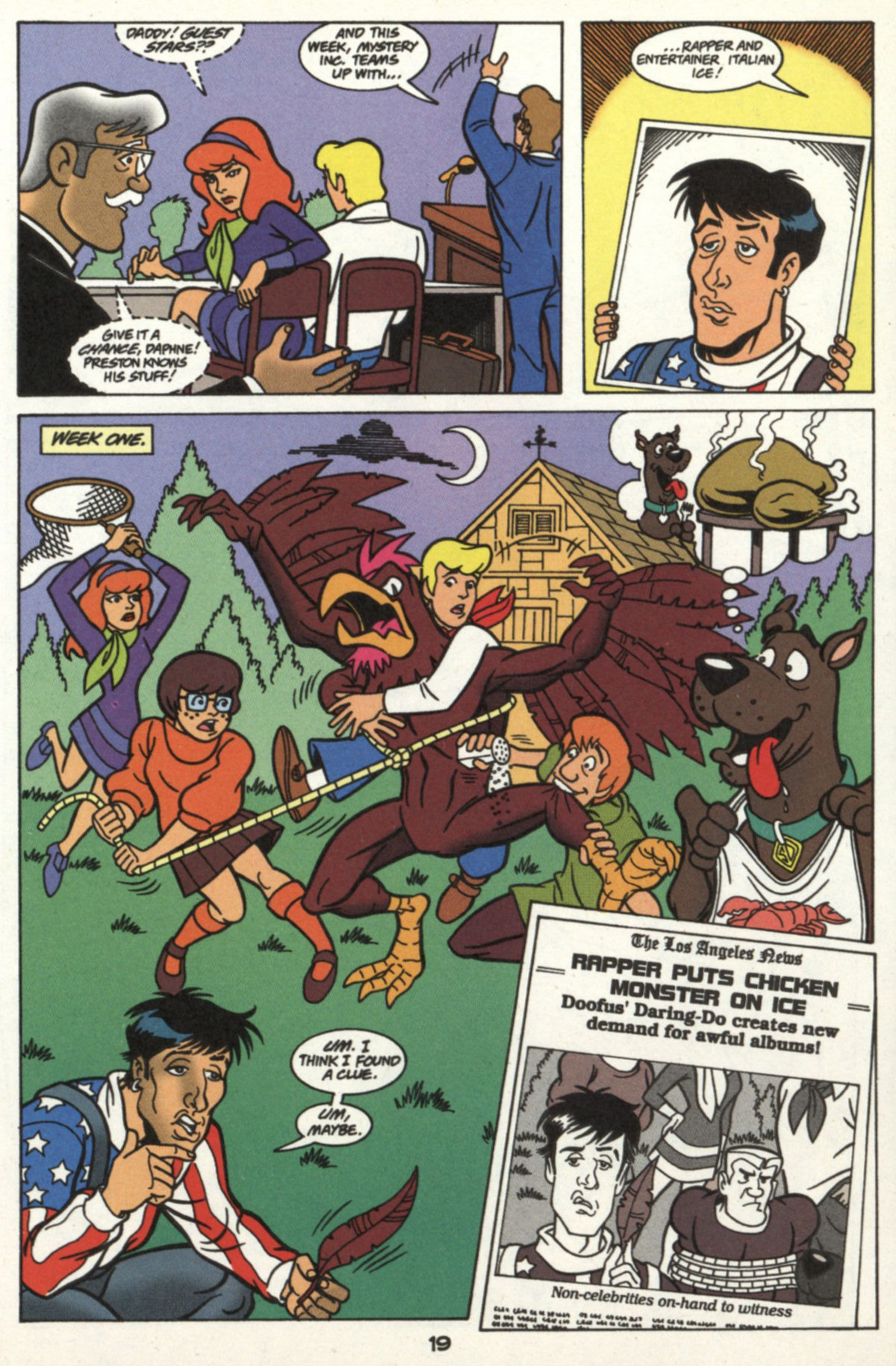 Read online Scooby-Doo (1997) comic -  Issue #16 - 18