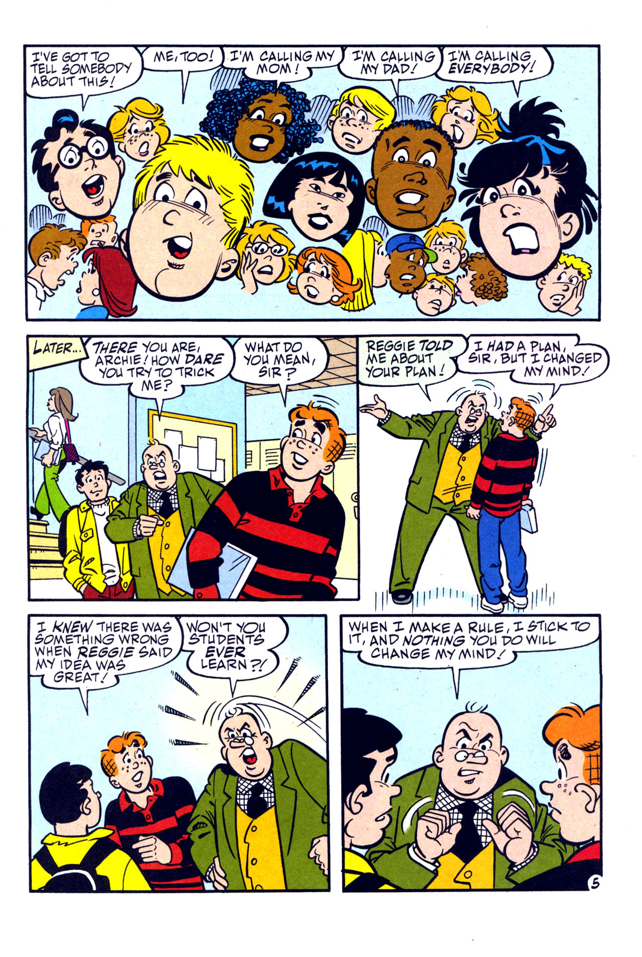 Read online Archie (1960) comic -  Issue #579 - 6