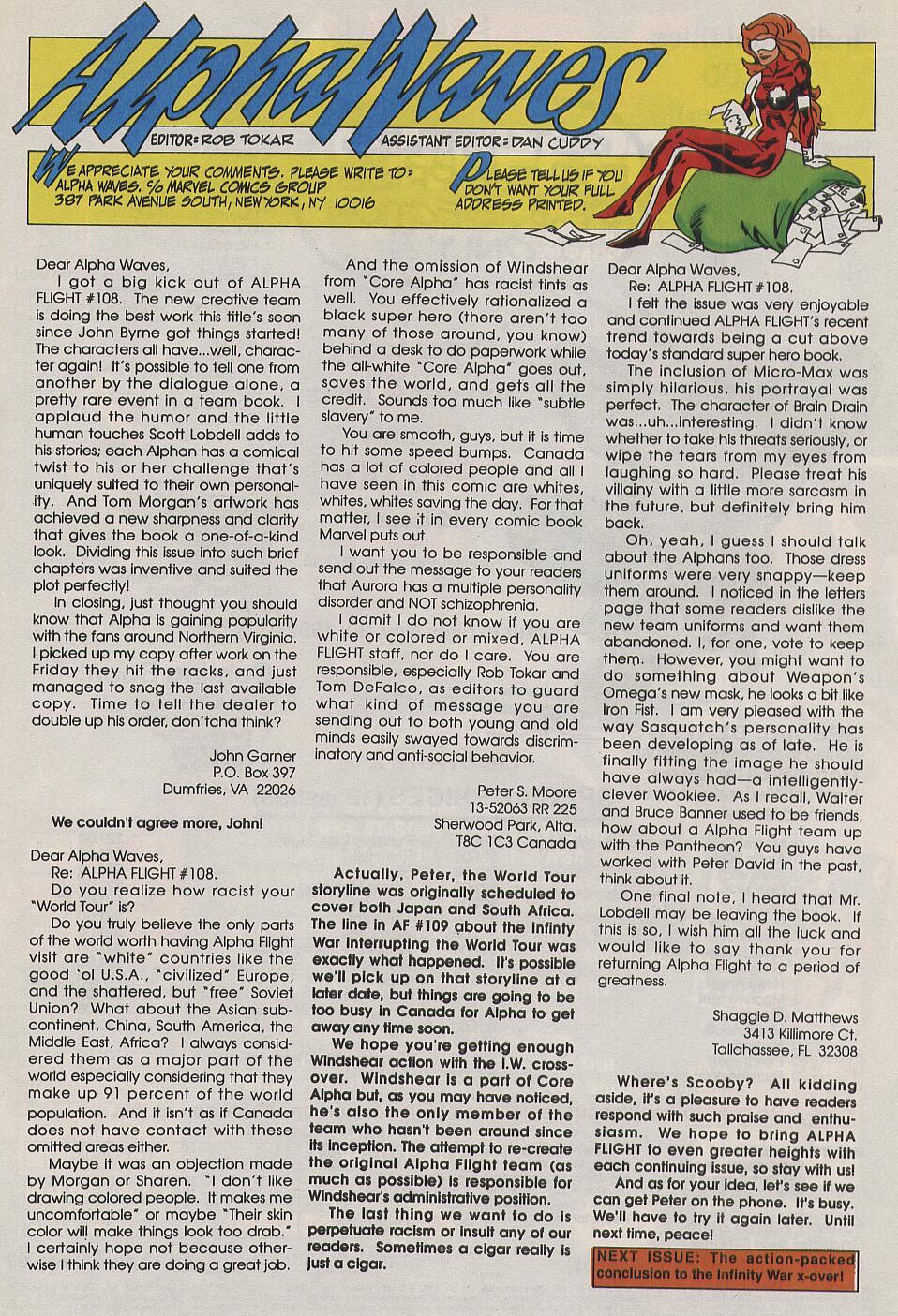 Read online Alpha Flight (1983) comic -  Issue #111 - 24