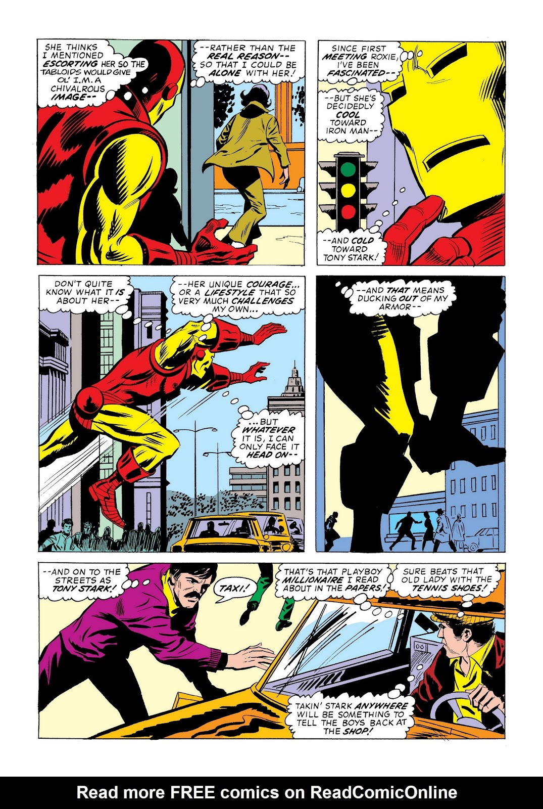 Read online Marvel Masterworks: The Invincible Iron Man comic -  Issue # TPB 9 (Part 2) - 98