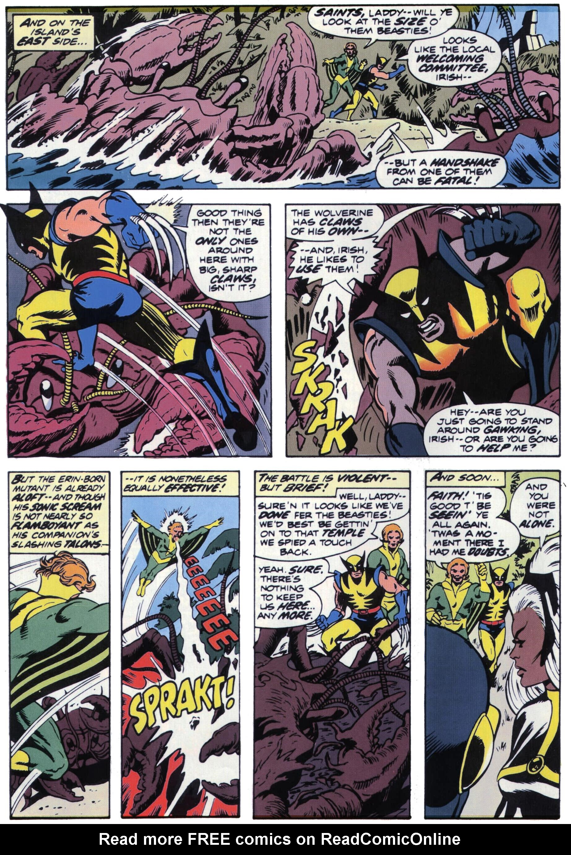 Read online Giant-Size X-Men comic -  Issue #1 - 25