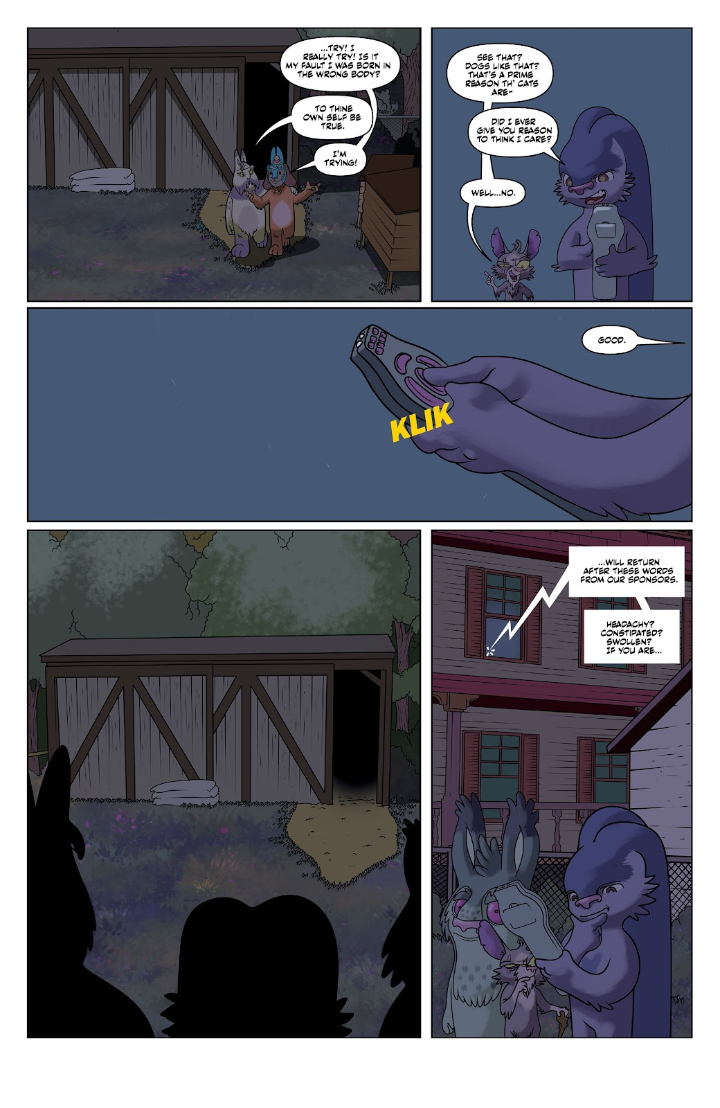 Read online Auntie Agatha's Home For Wayward Rabbits comic -  Issue #6 - 12