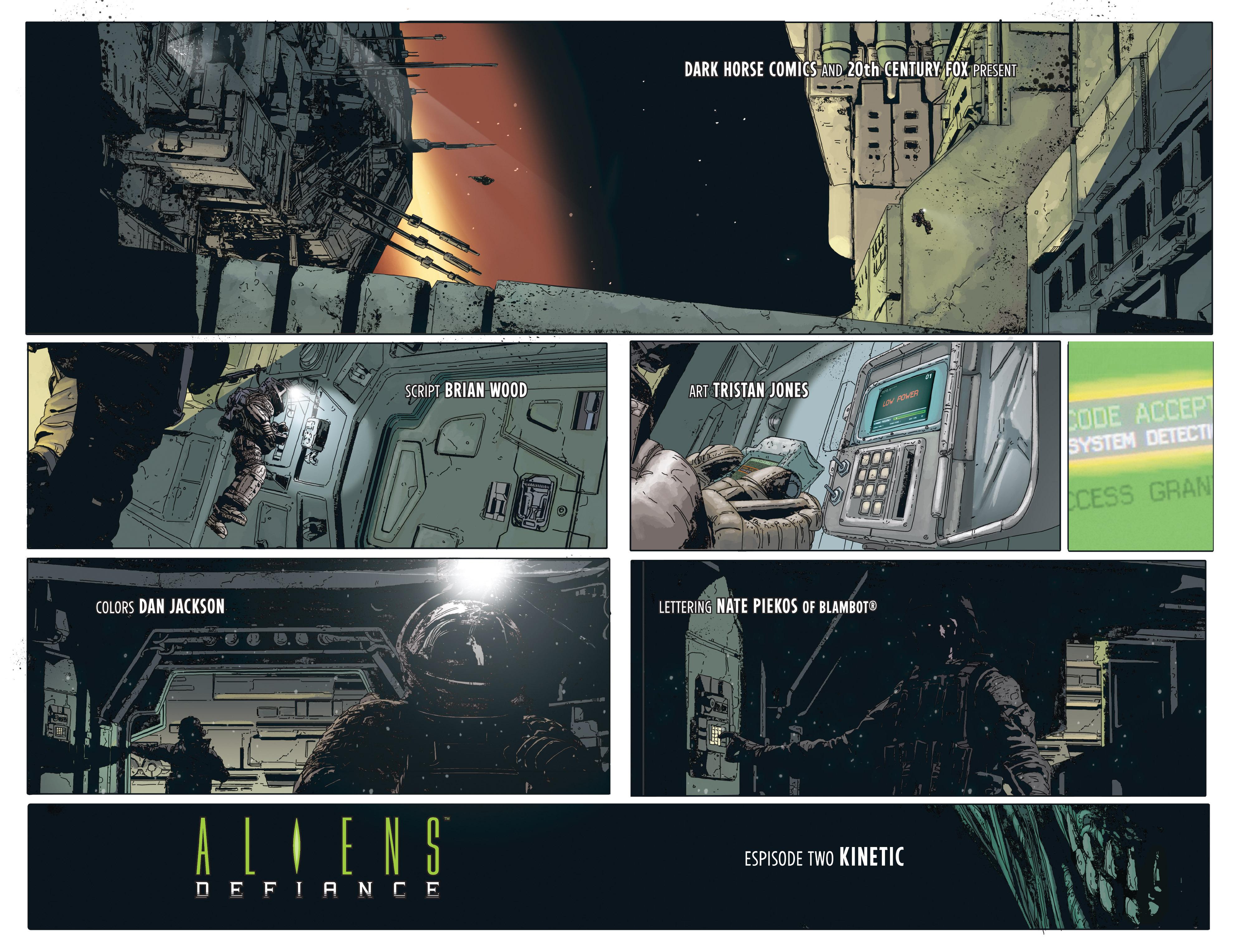 Read online Aliens: Defiance comic -  Issue #2 - 6
