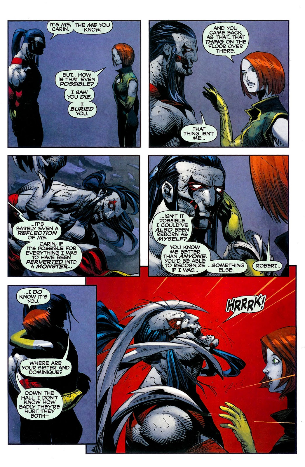 Cyberforce (2006) Issue #2 #3 - English 7