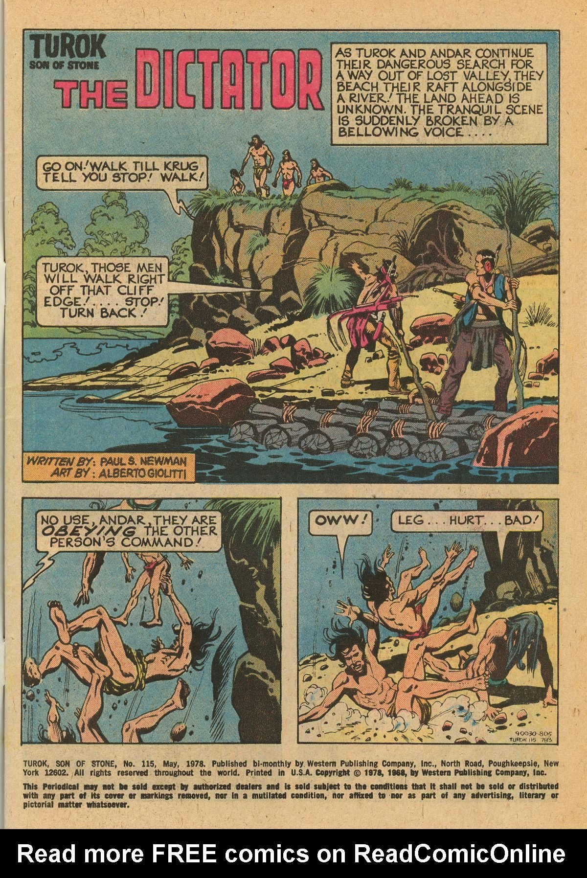 Read online Turok, Son of Stone comic -  Issue #115 - 3