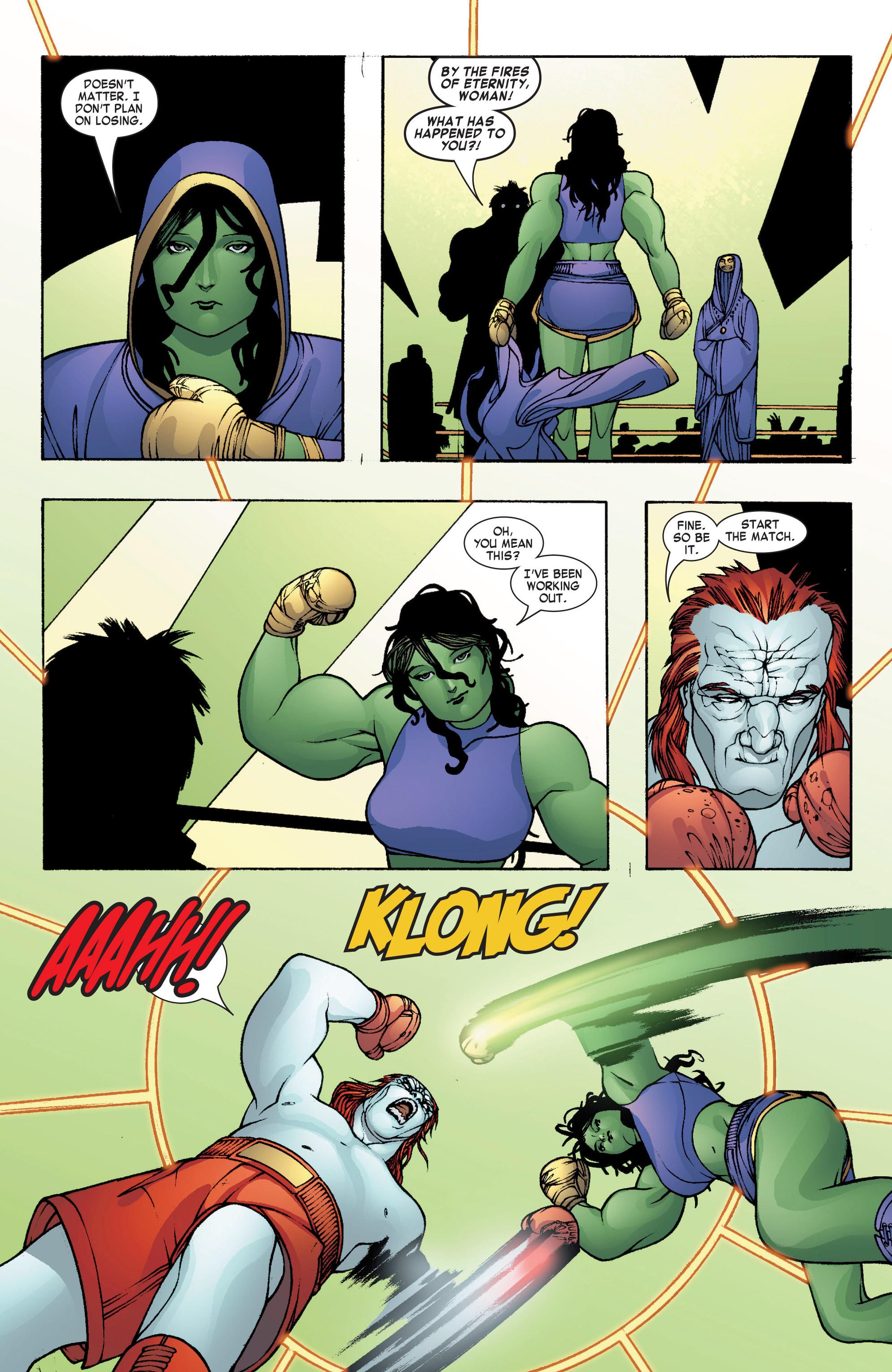 Read online She-Hulk (2004) comic -  Issue #8 - 21