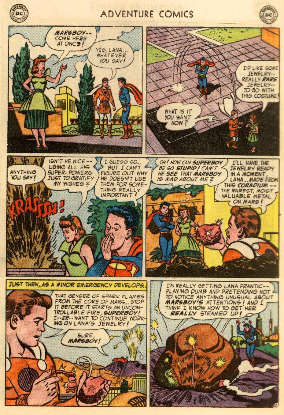 Read online Adventure Comics (1938) comic -  Issue #195 - 11